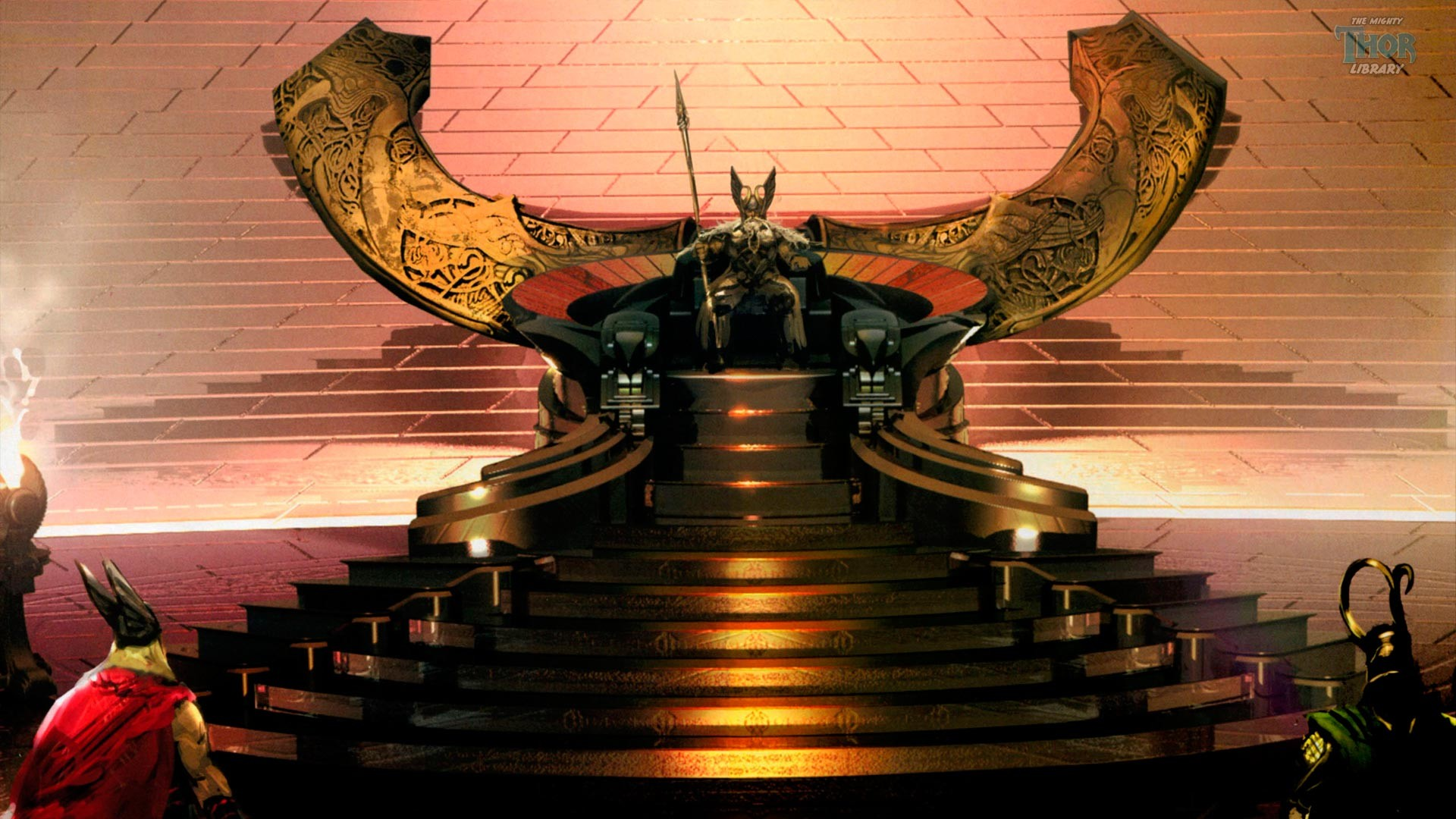 King throne background wallpapertag - King wallpaper ...
