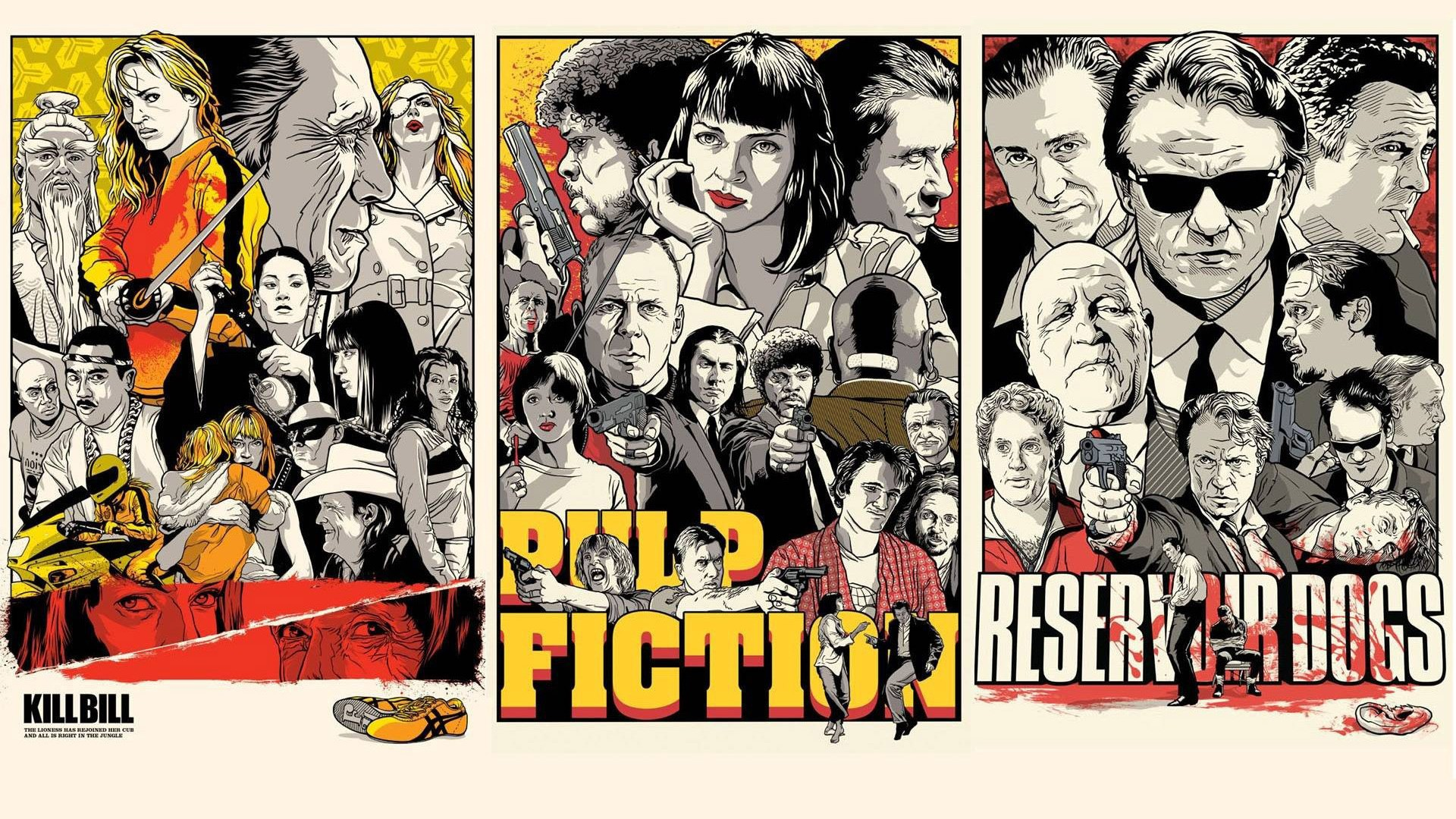 Pulp Fiction Wallpaper Download Free Full Hd Wallpapers For