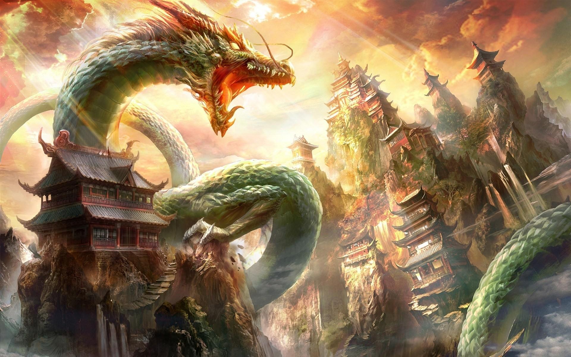 China Dragon: Chinese Dragon Wallpaper ·① WallpaperTag