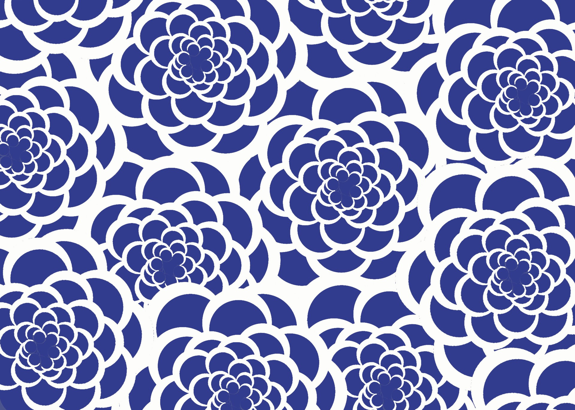 Blue And White Flower Wallpaper: Blue And White Background ·① Download Free Amazing