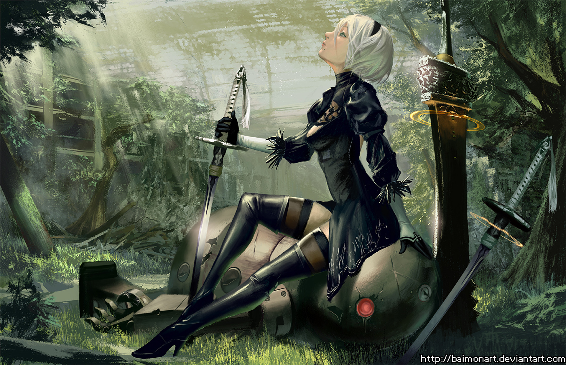 Nier Automata Fan Art Wallpaper 01 1920x1080: Nier Gestalt Wallpaper ·① WallpaperTag