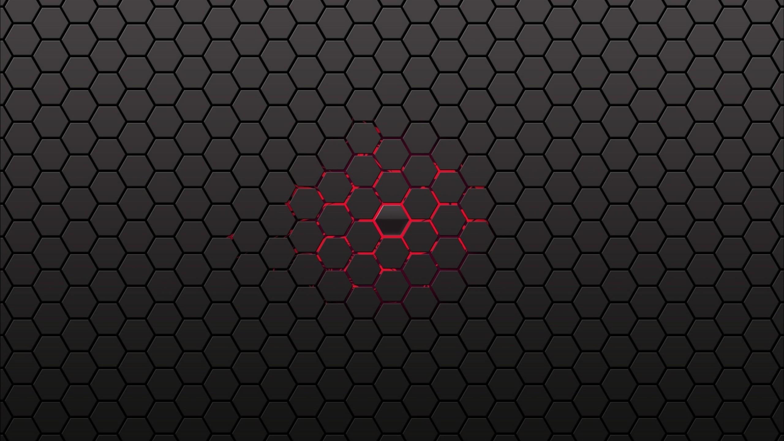 2560x1440 38 Units Of Honeycomb Wallpaper