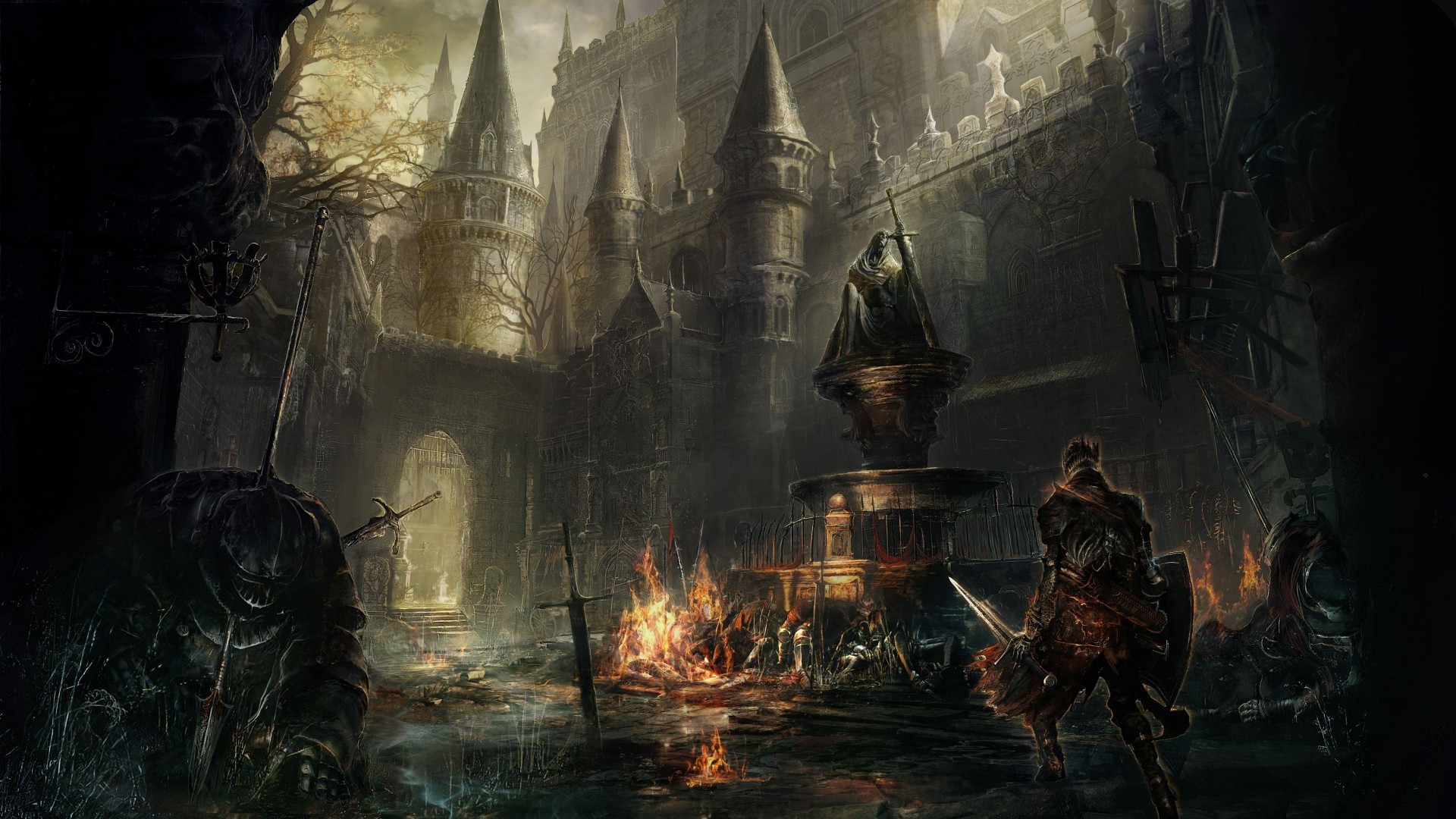 Gothic Interiors Gothic Art Wallpaper 183 ①
