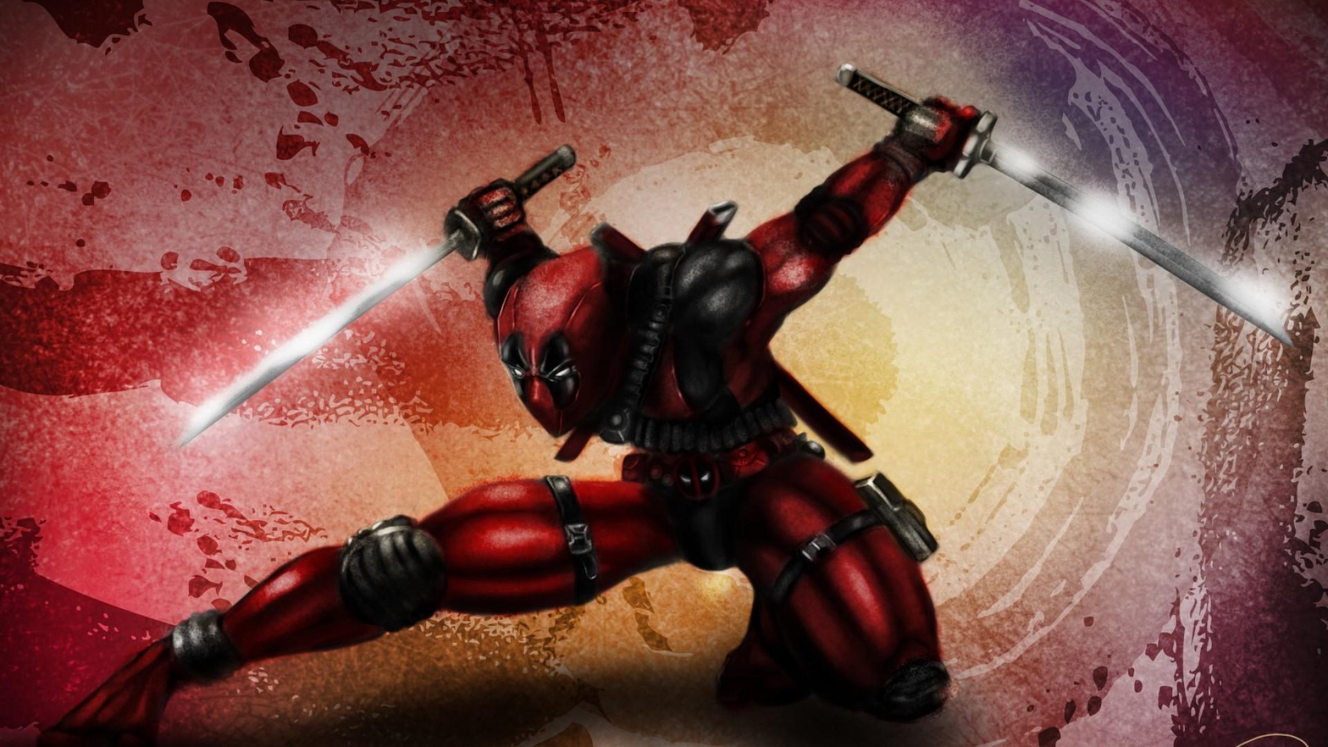 Deadpool wallpaper 1920x1080 download free stunning hd - Deadpool download 1080p ...