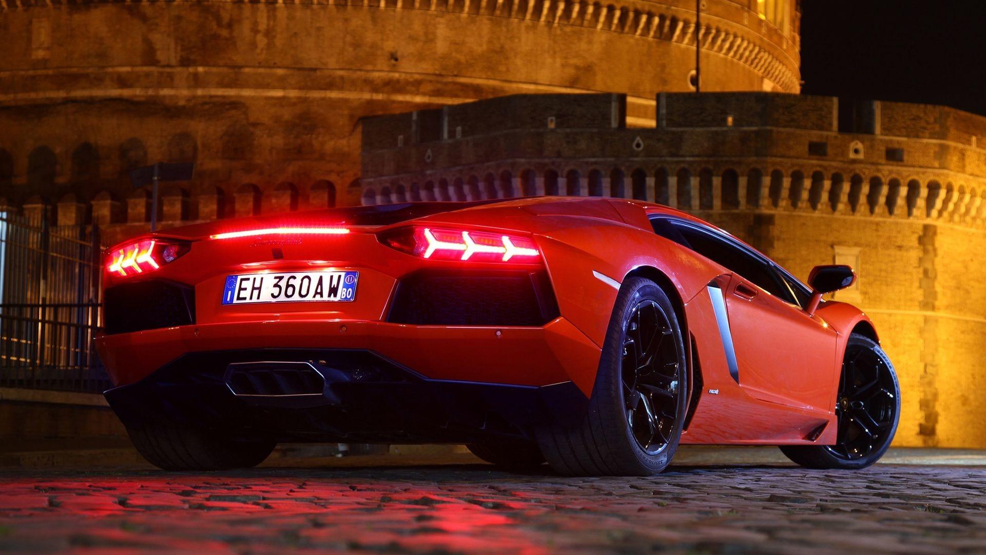 1920x1080 Red Lamborghini Aventador HD Wallpapers 1080p Cars