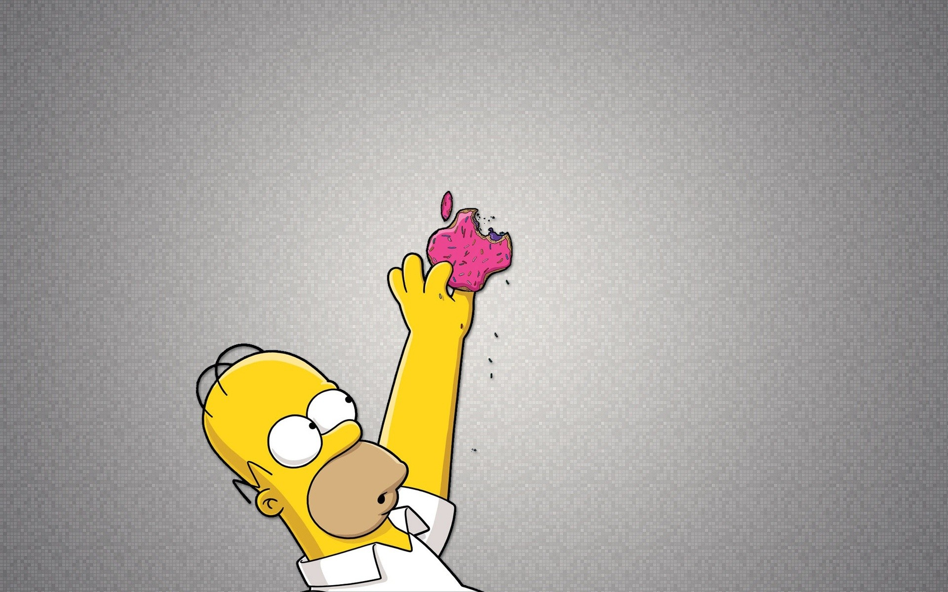 1920x1200 Homer Simpson Apple Wallpapers Wallpaper 1920A 1080 Bart 34