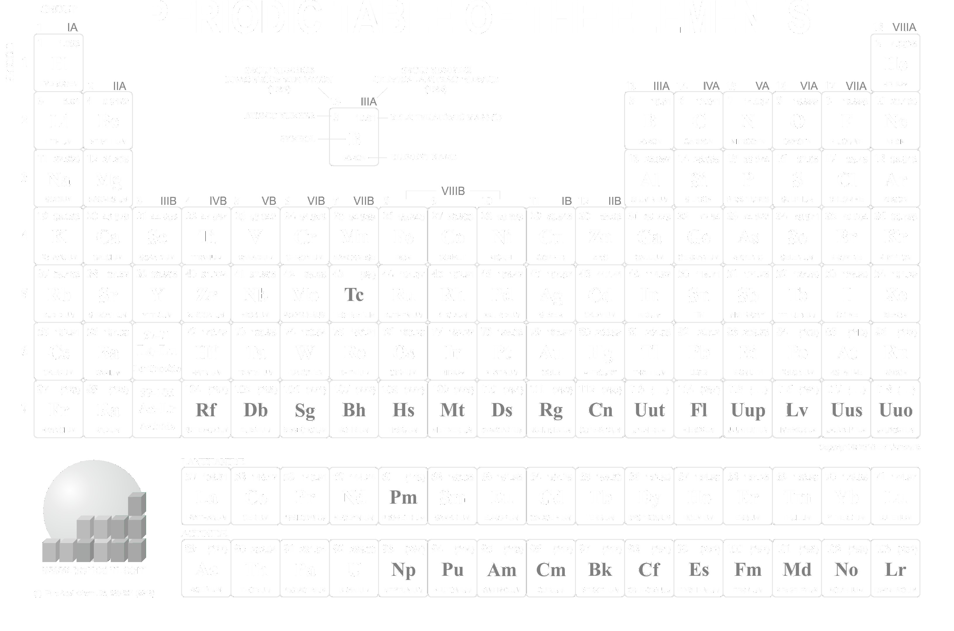 3265x2160 periodic table for dark backgrounds download so - Download Periodic Table App For Windows 8