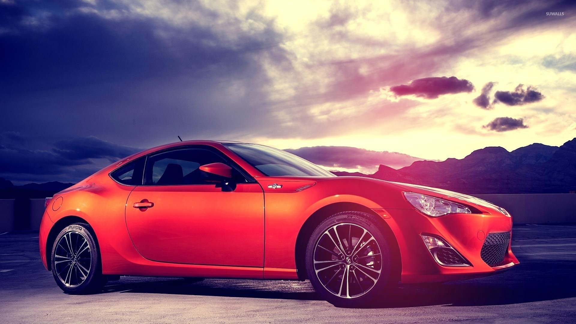 X Side View Of A  Scion Fr S Wallpaper X Jpg