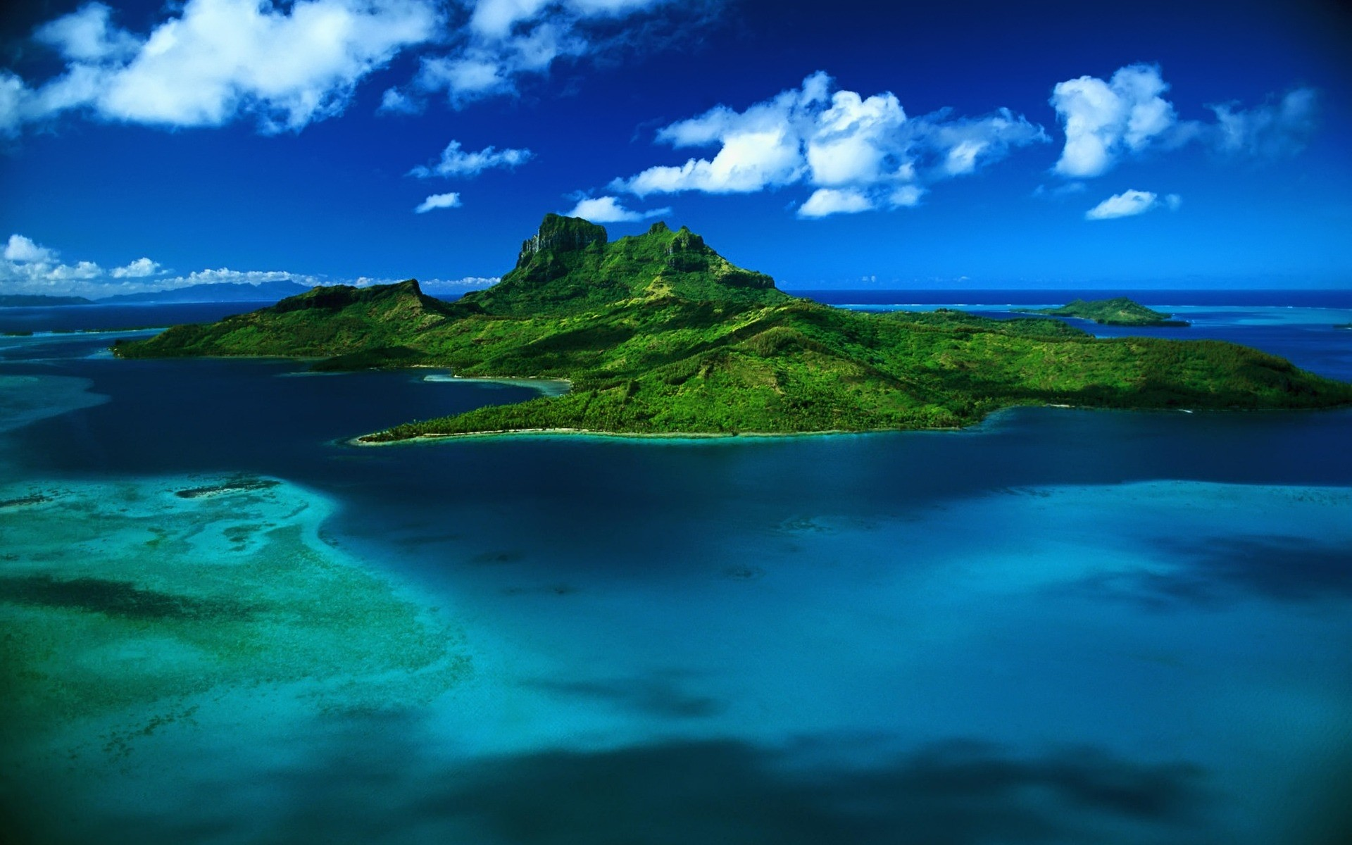 Hd Tropical Island Beach Paradise Wallpapers And Backgrounds: Tropical Island Desktop Backgrounds ·① WallpaperTag