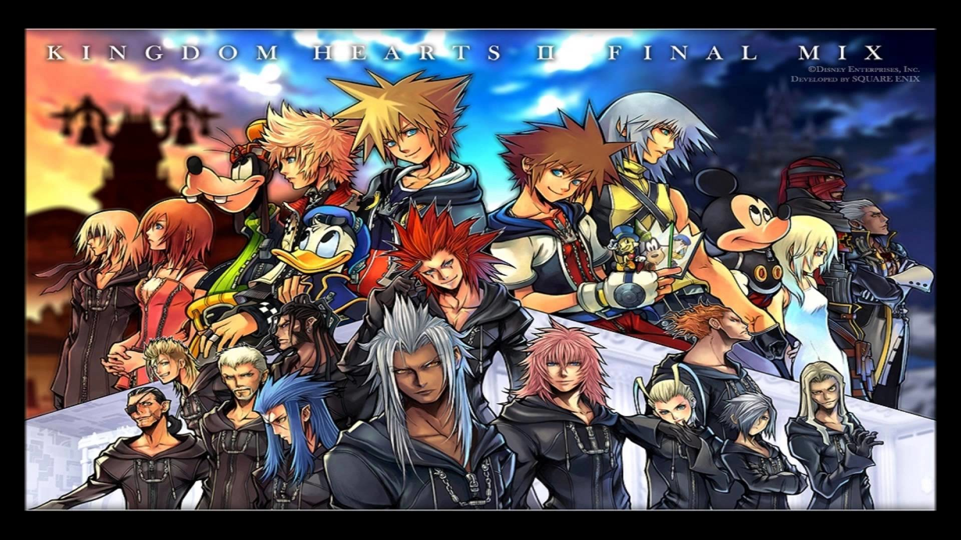 Kingdom Hearts 2 Final Mix Wallpaper Wallpapertag