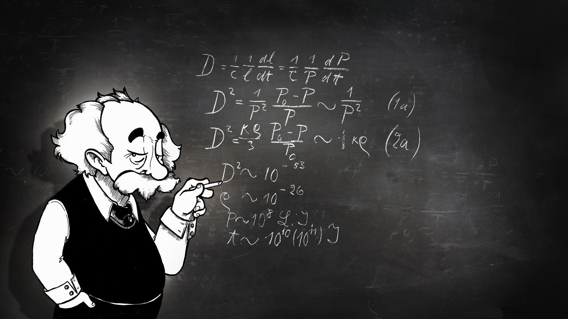 Albert Einstein Wallpaper ·①