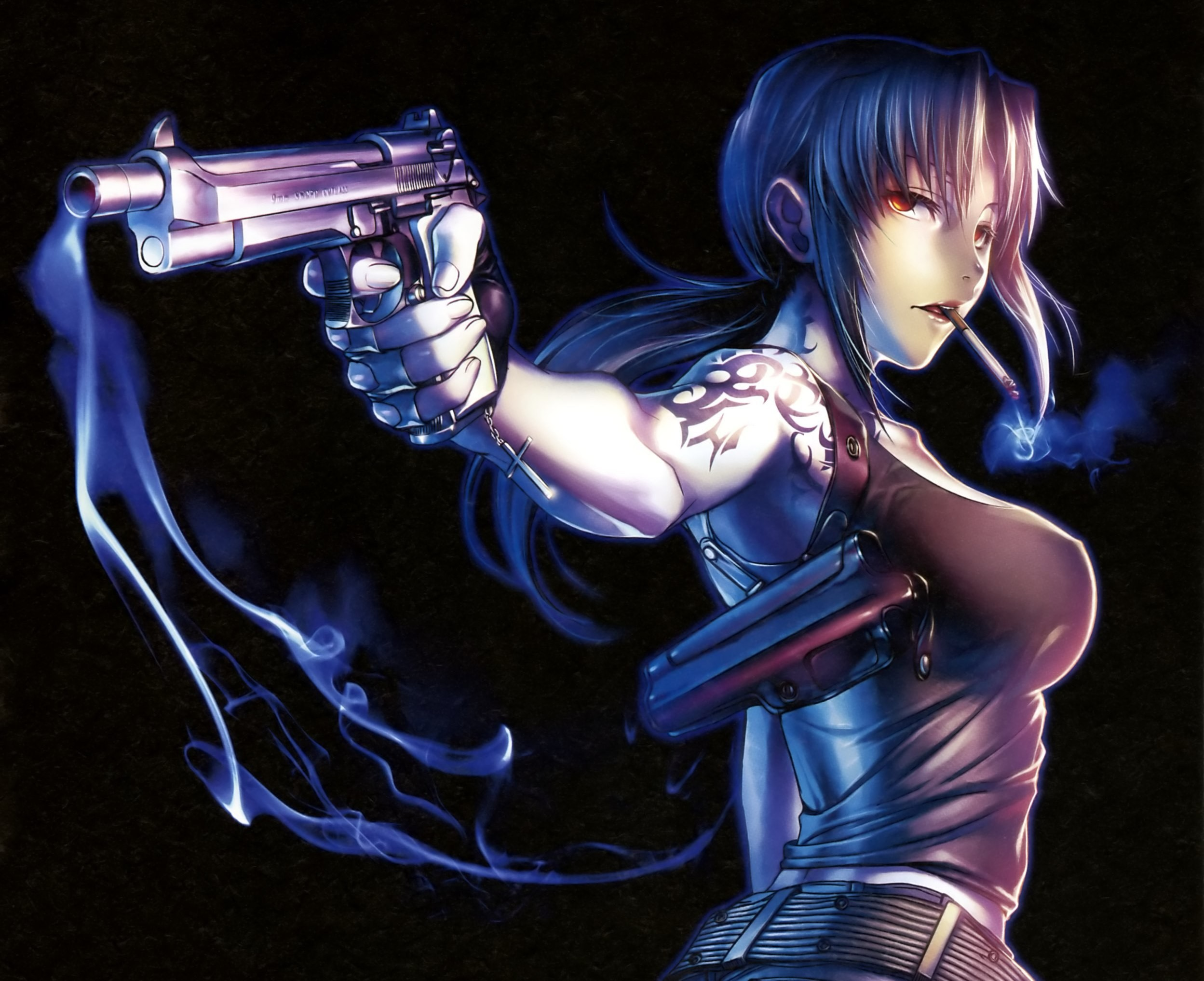 black lagoon revy wallpaper hd ·①