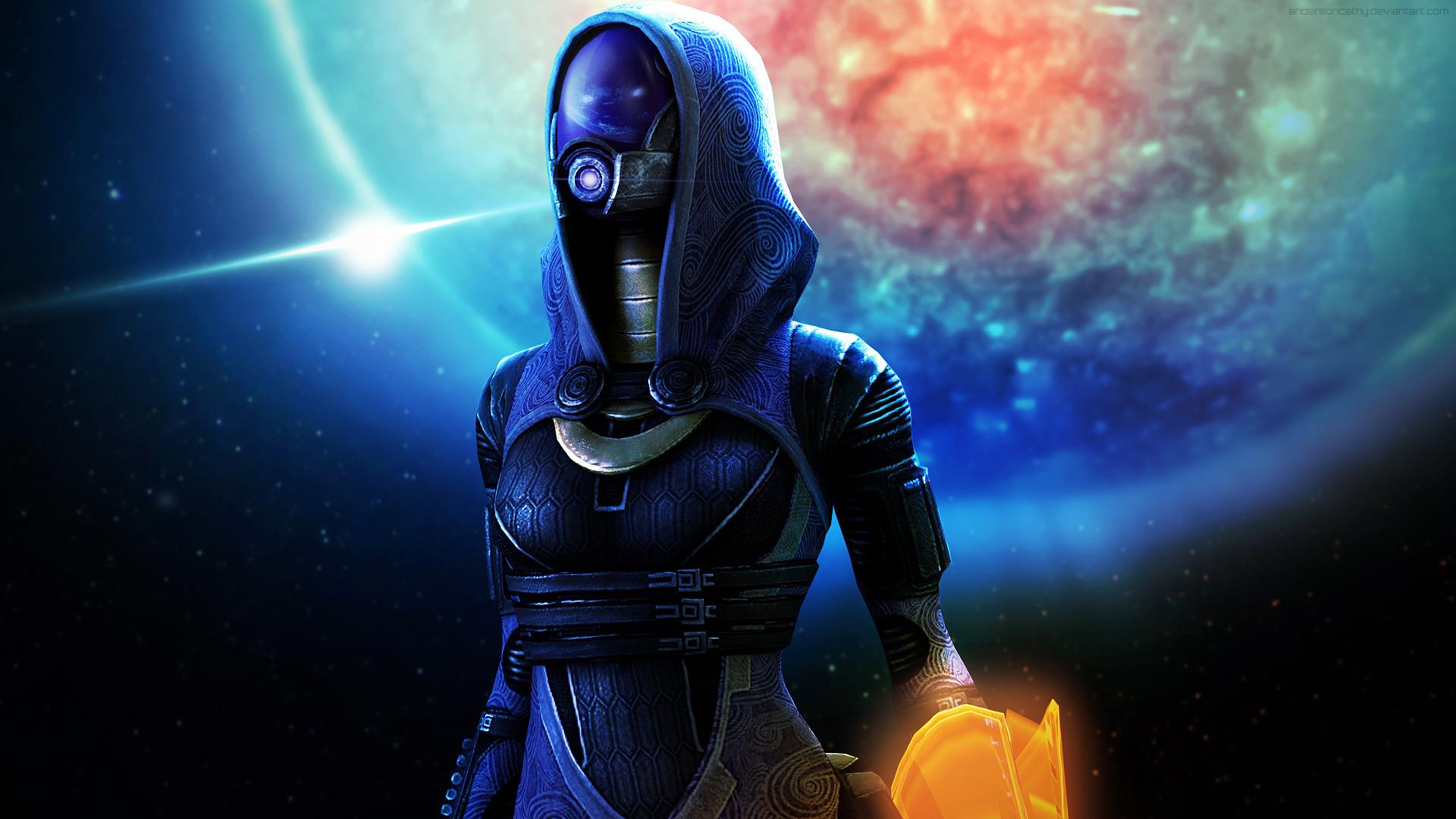 Mass Effect Tali Wallpaper Wallpapertag