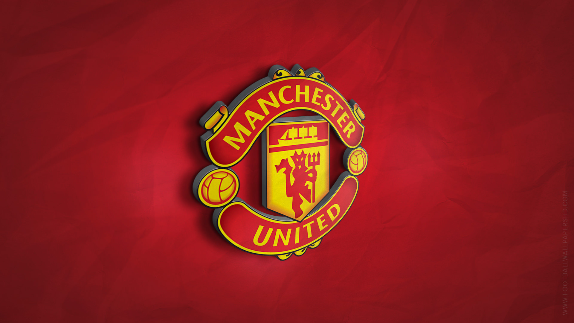 Manchester United Logo Wallpaper Hd Wallpapertag