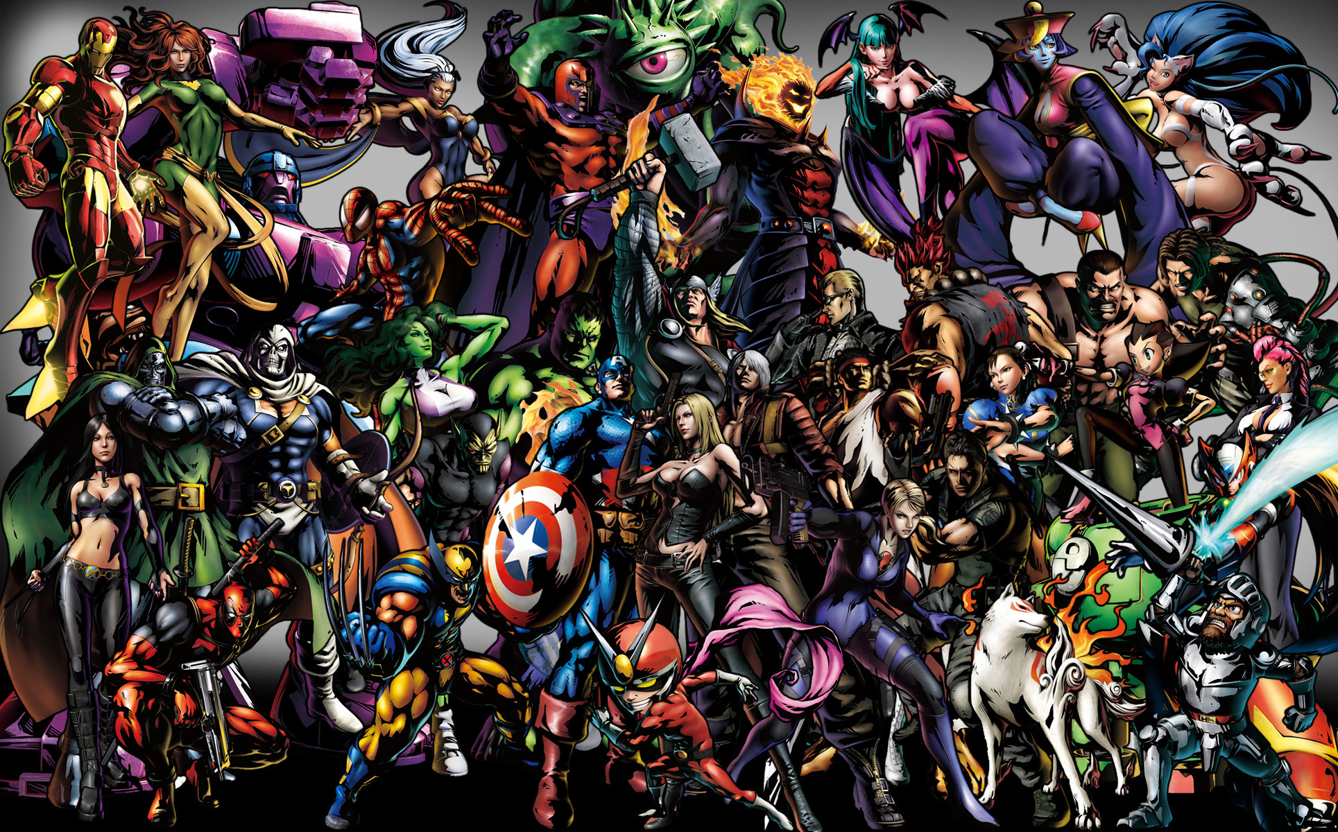 Marvel Characters Wallpaper ·① WallpaperTag