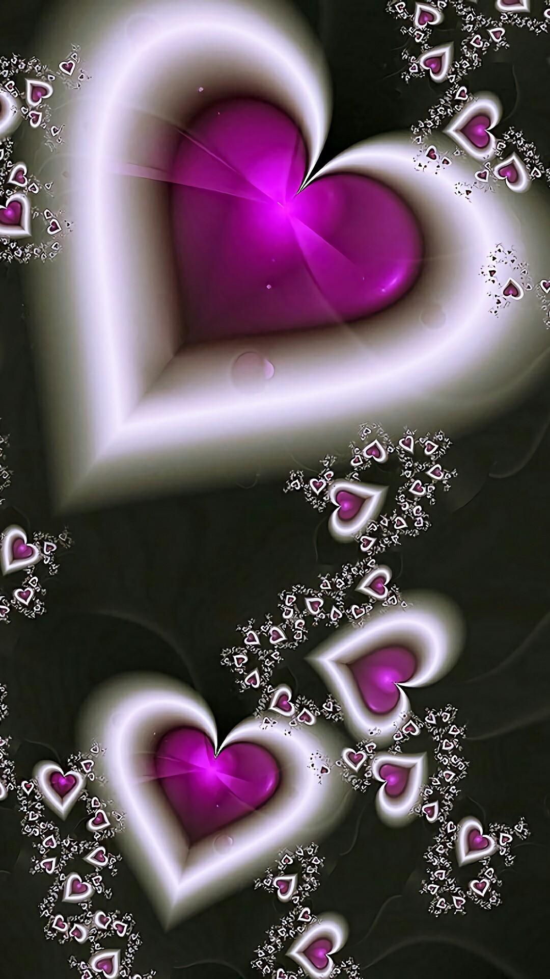 Pretty heart backgrounds wallpapertag - Heart to heart wallpaper ...