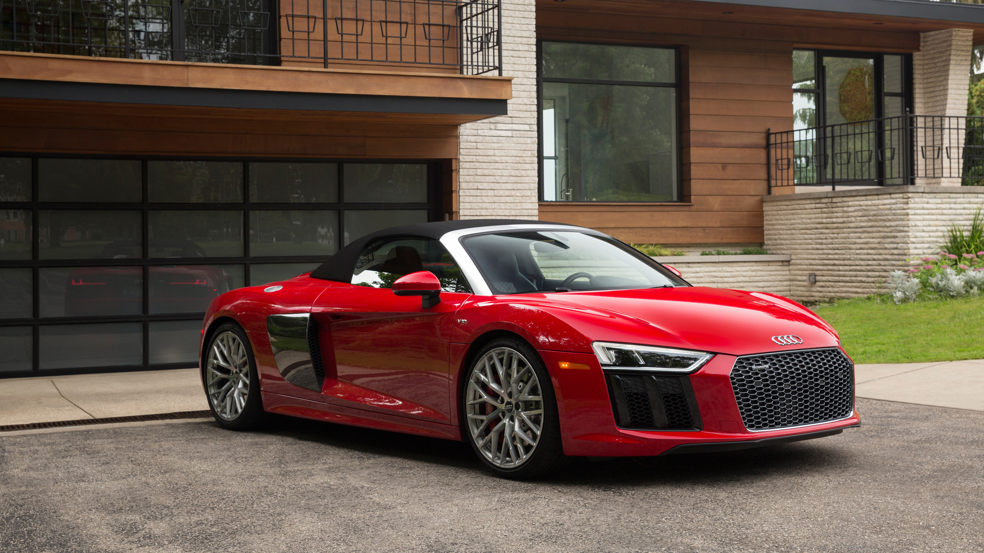 Audi R8 Spyder 2018 Wallpaper