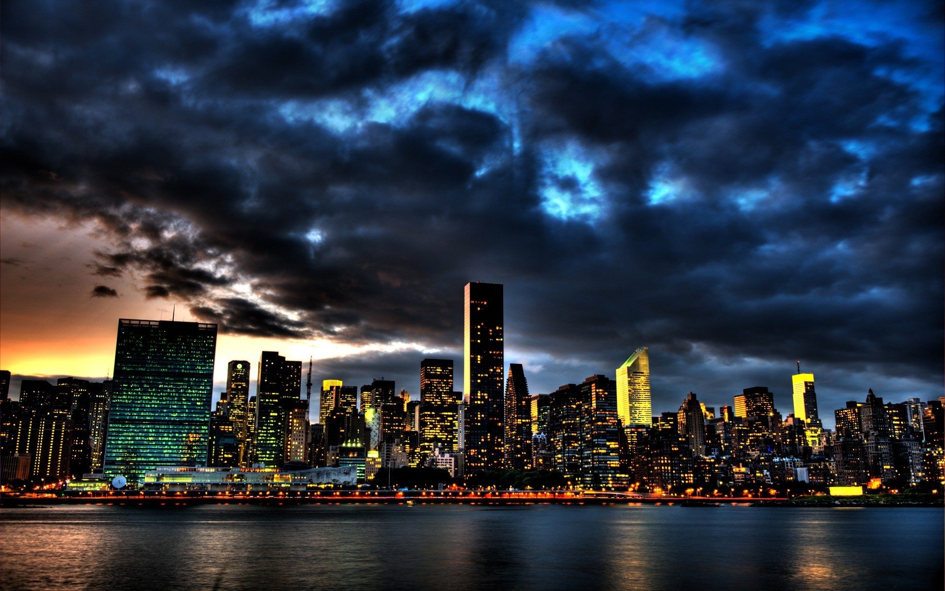 New York City Skyline Wallpapers Wallpapertag