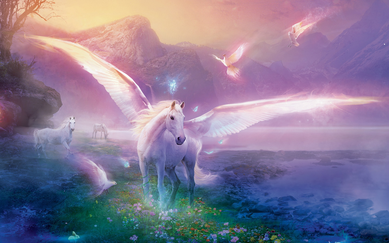 Fantasy Horse Wallpaper Wallpapertag
