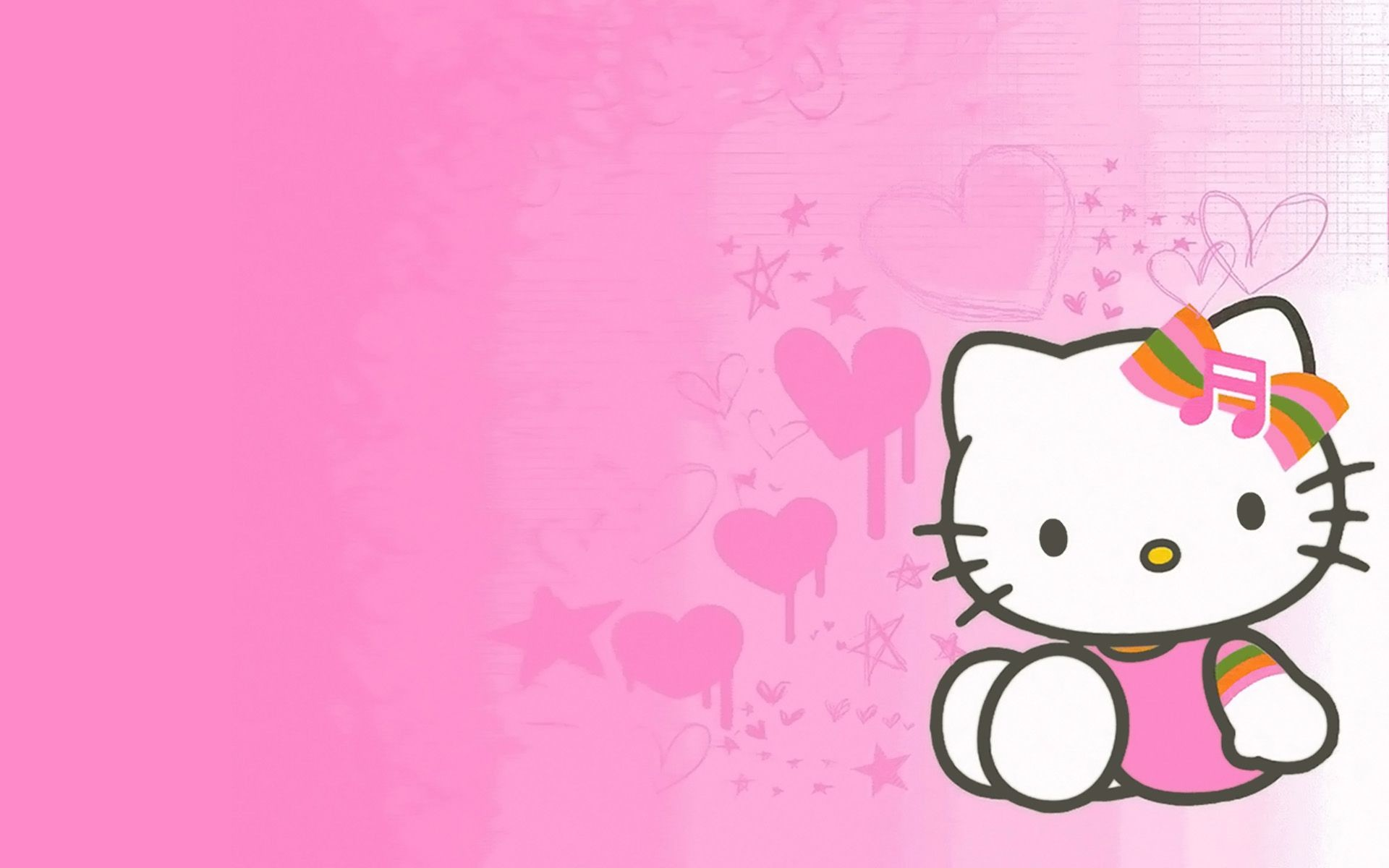Wallpaper Background Hello Kitty
