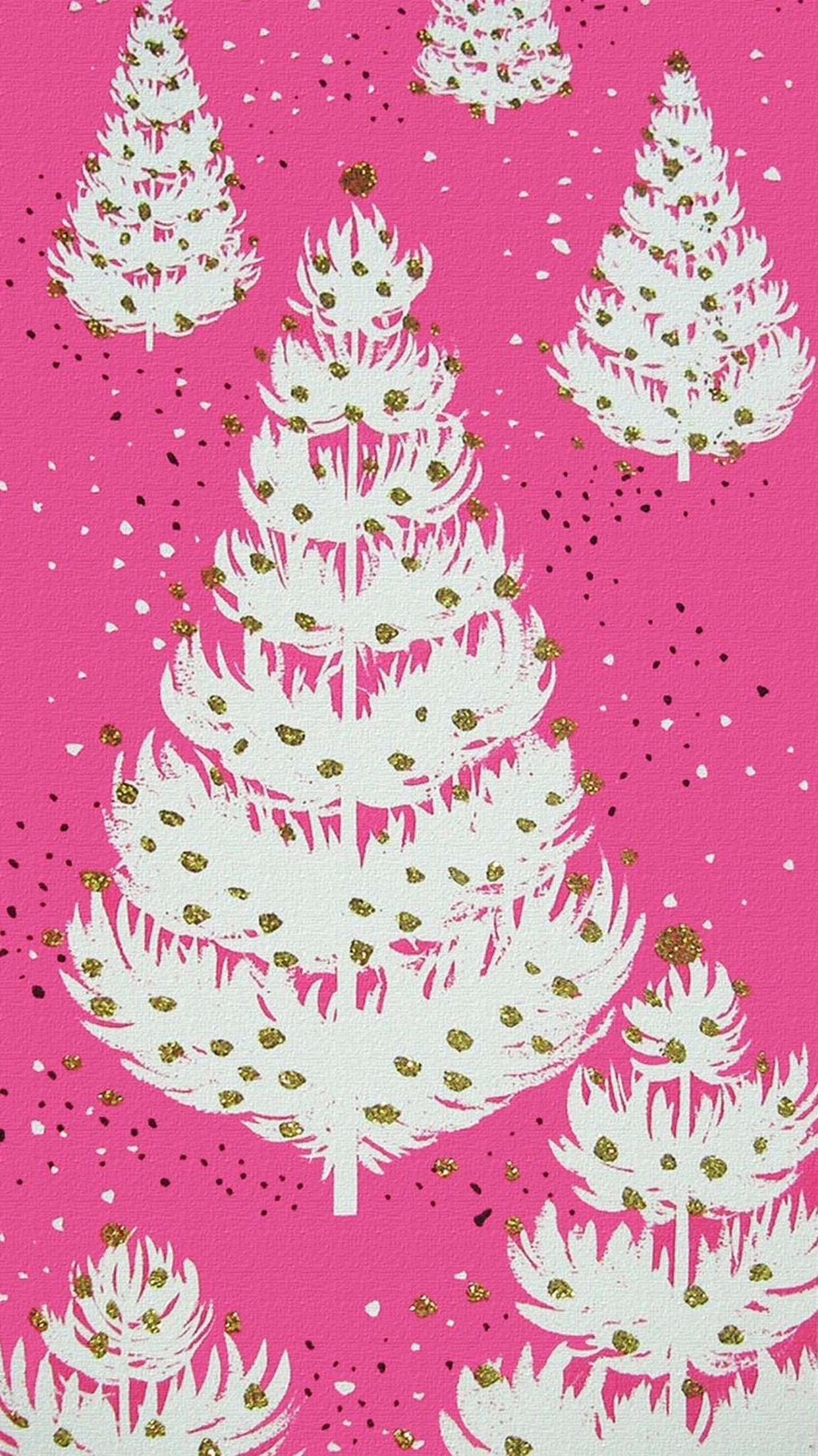 986416 pink christmas wallpaper 1242x2208 for ios