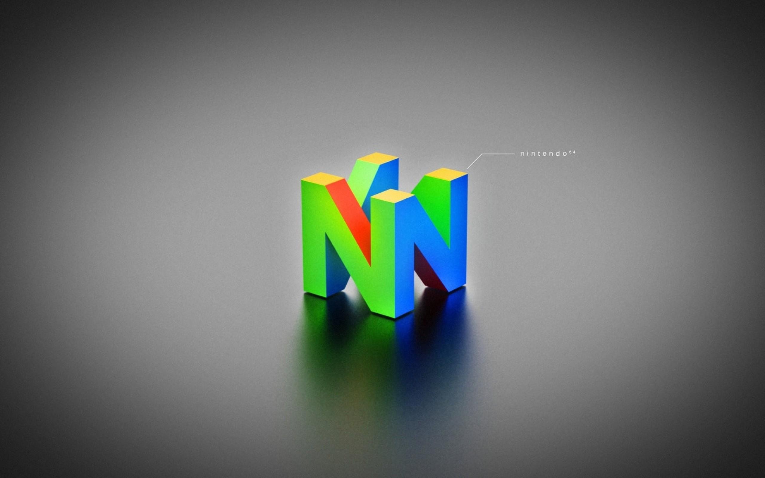 n64 logo hd wallpaper - HD2560×1600
