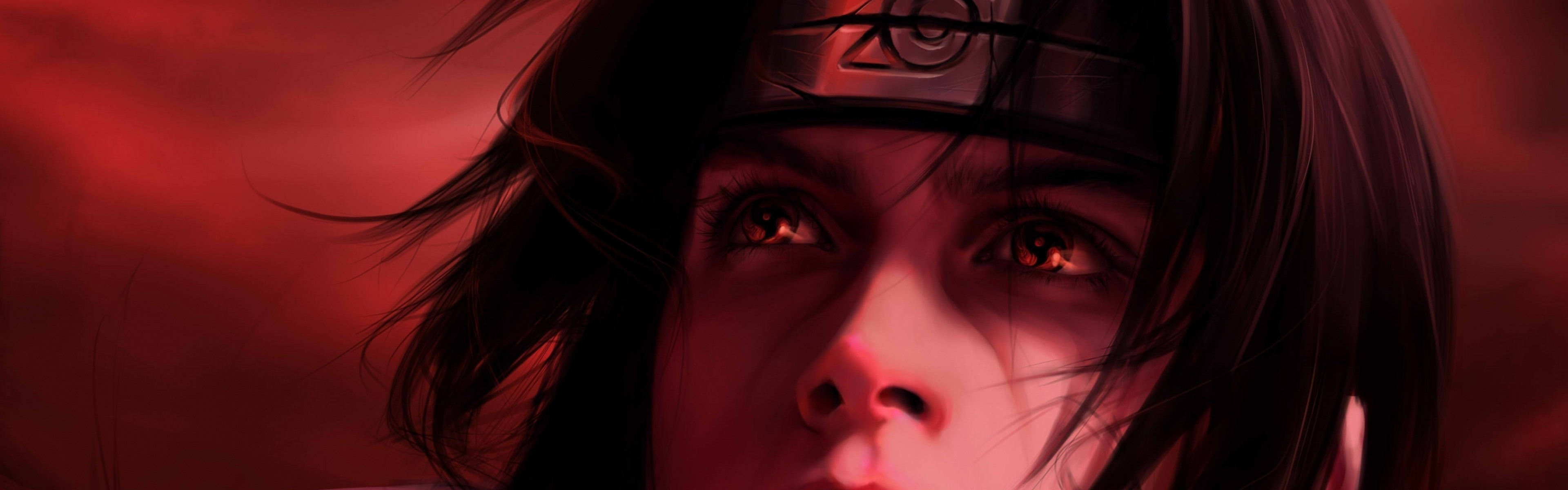 Wallpaper Red 2560x1440 >> Itachi Uchiha Wallpaper Sharingan ·①