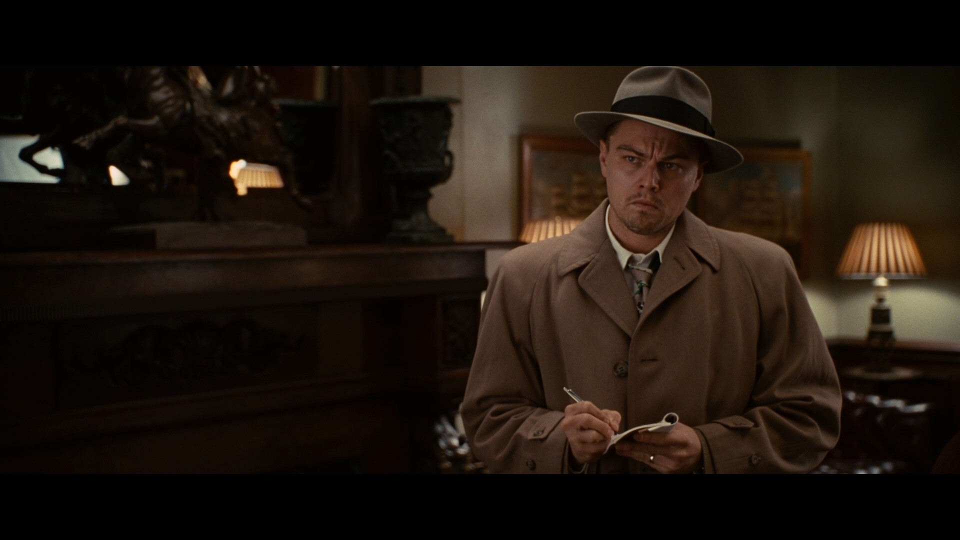 reaction paper to shutter island I haven't seen in the film, but in the book, he is indeed insane he was a murderer committed to the hospital, and the doctor, hoping to avoid subjecting him to a lobotomy, came up with the idea that informs the plot.