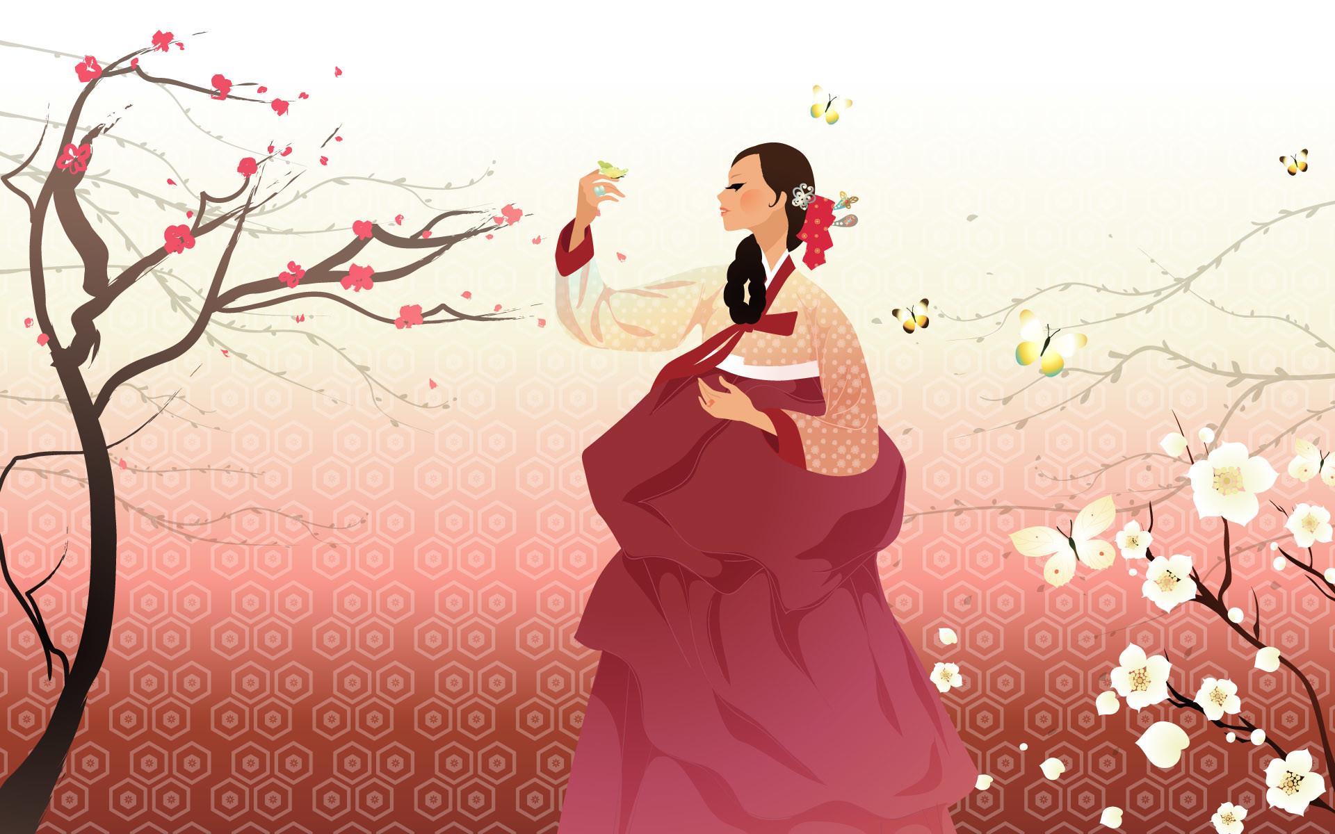 Cute Korean Backgrounds 1