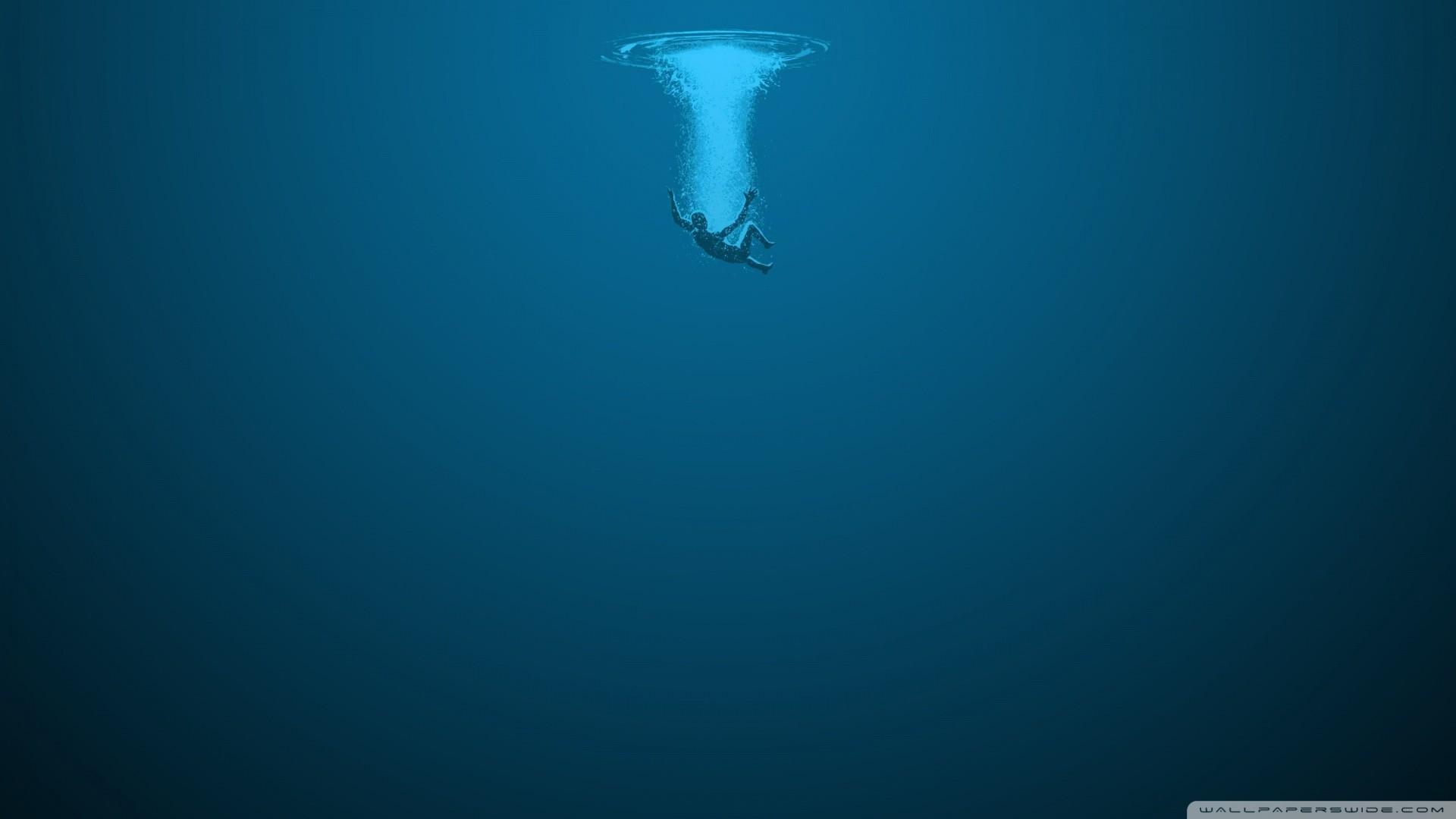 1920x1080 Deep Underwater Wallpaper Hd