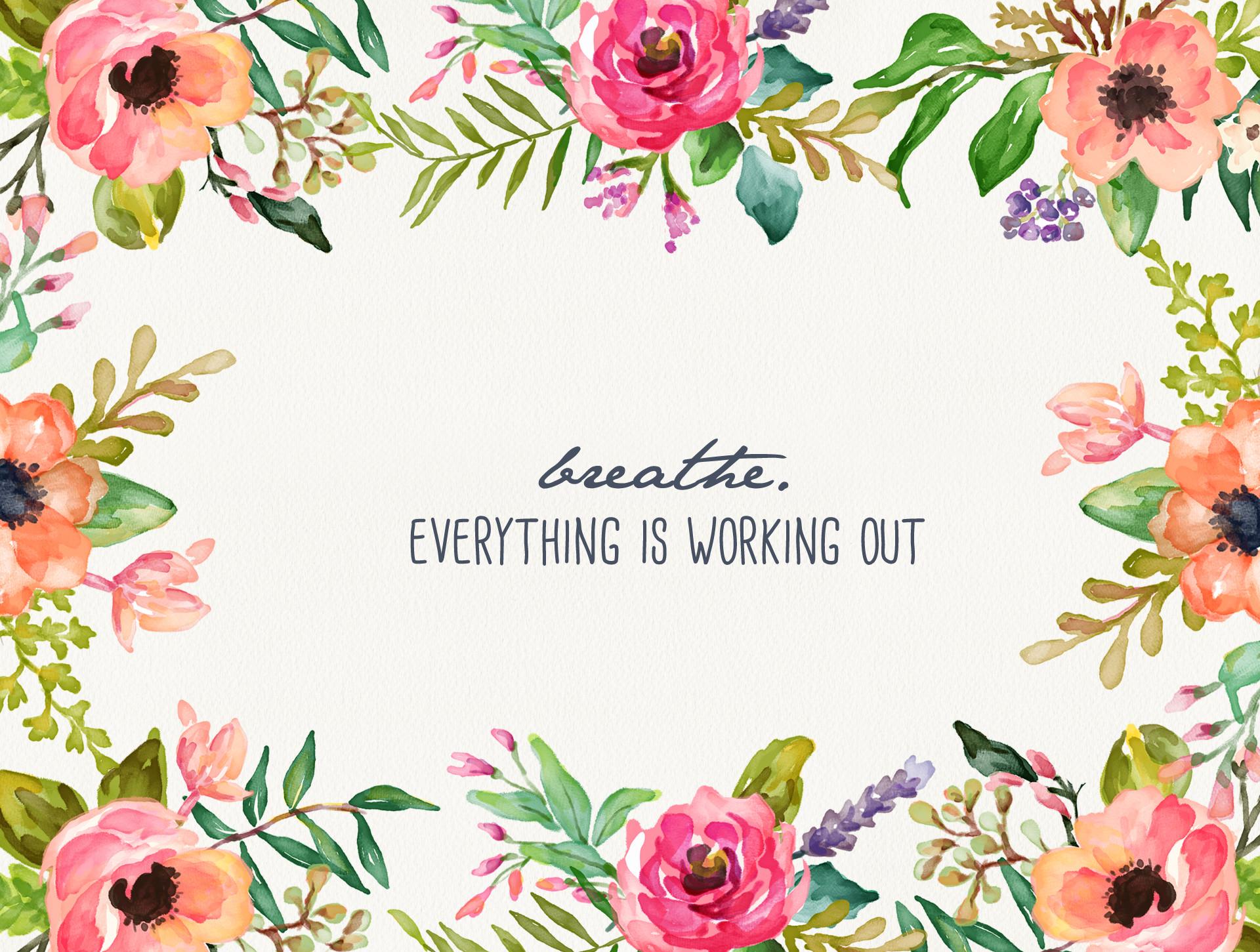 Floral Desktop Background Wallpapertag