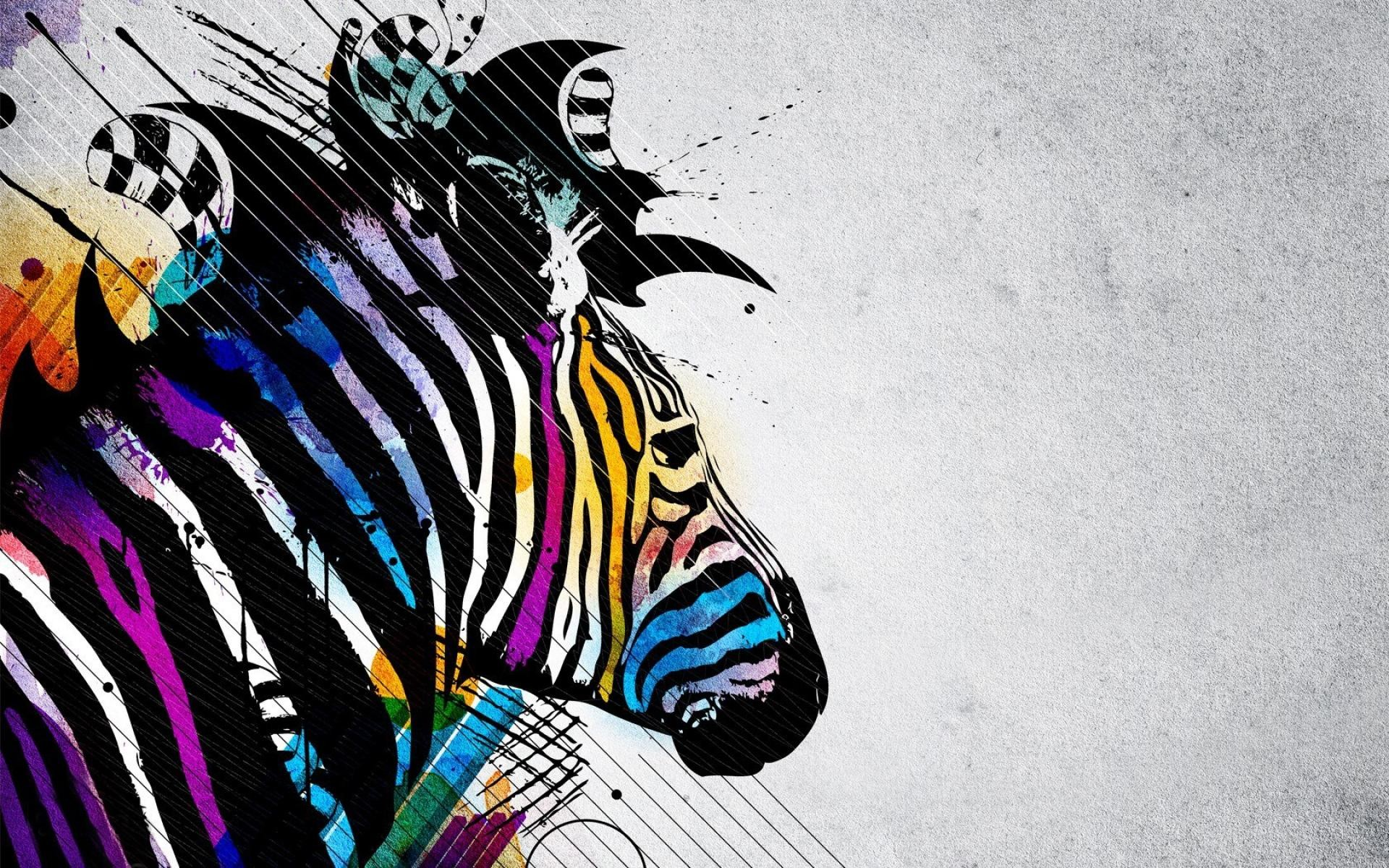 Rainbow Zebra Background Designs 183 ① Wallpapertag