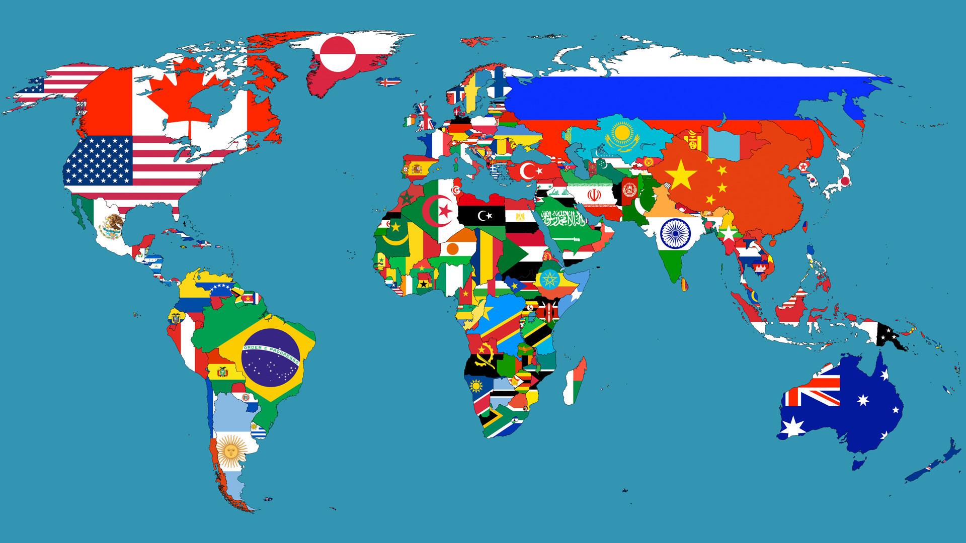 Africa Map Wallpaper