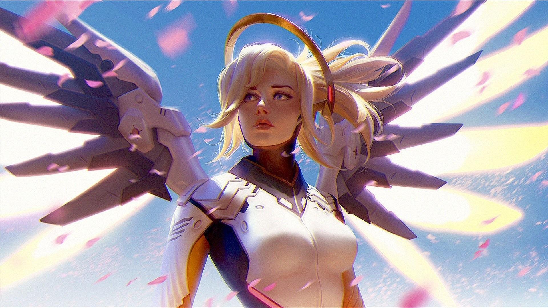 Overwatch Mercy wallpaper ·① Download free beautiful ...