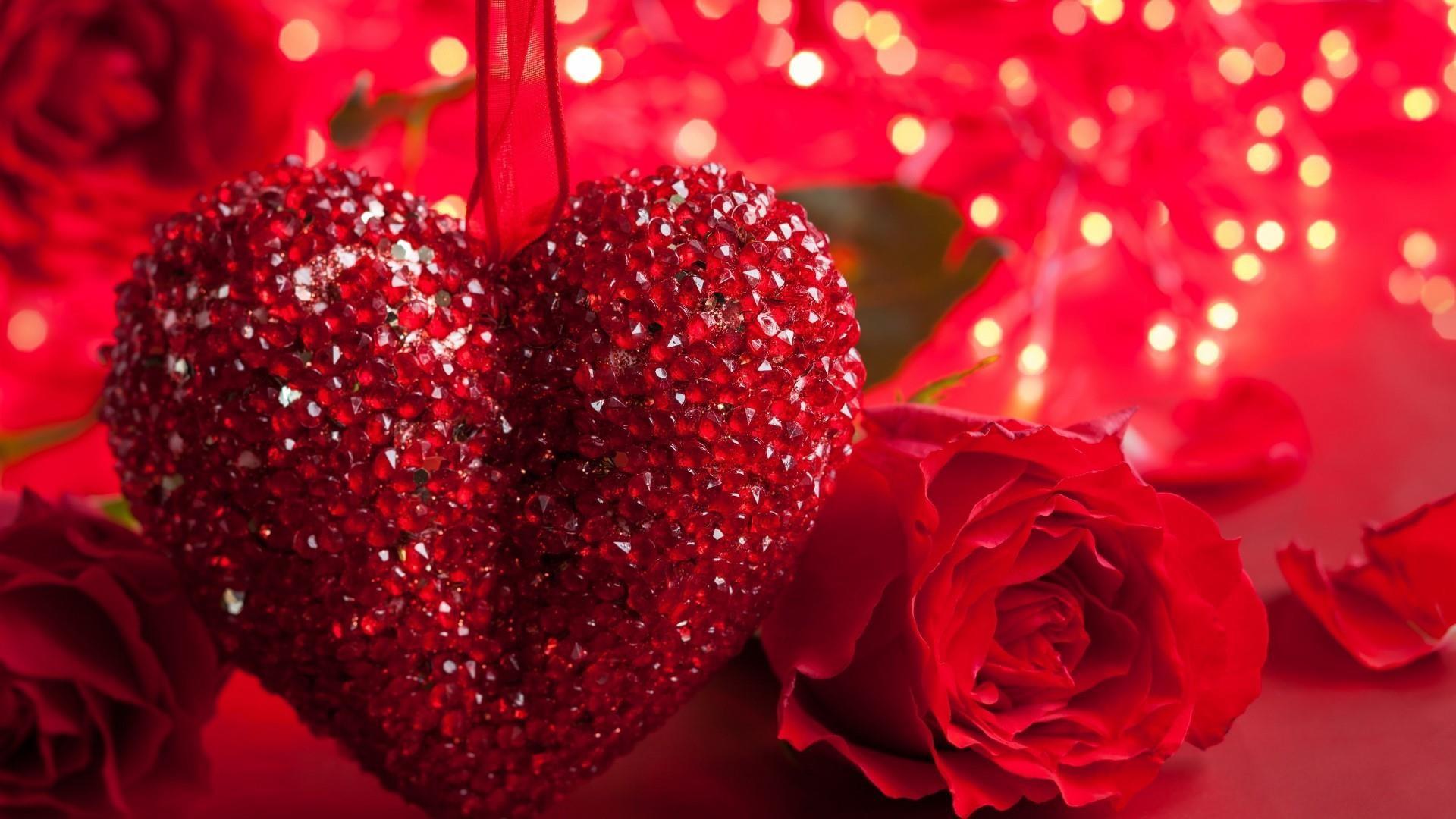 Red Rose Heart Wallpaper Wallpapertag