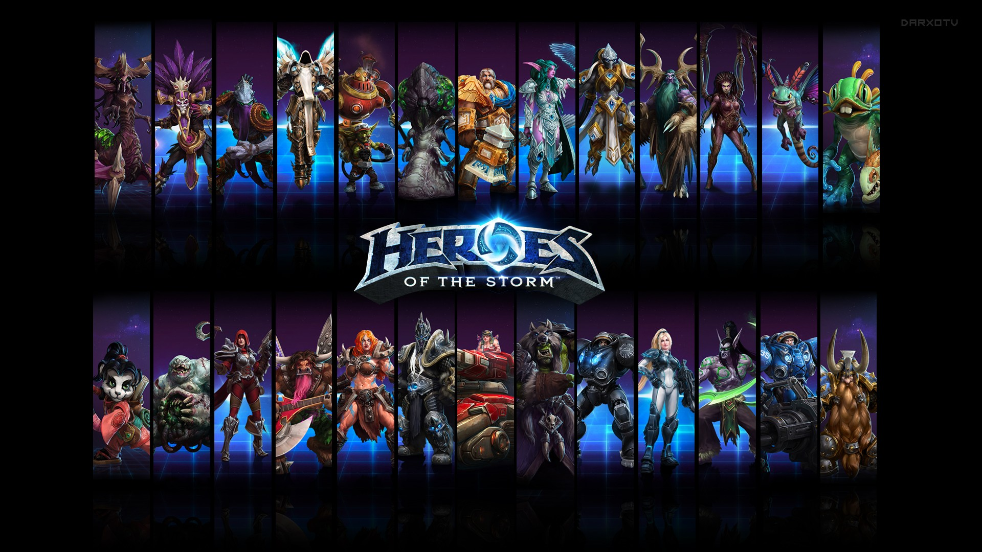 Heroes Of The Storm Wallpaper Download Free Awesome High