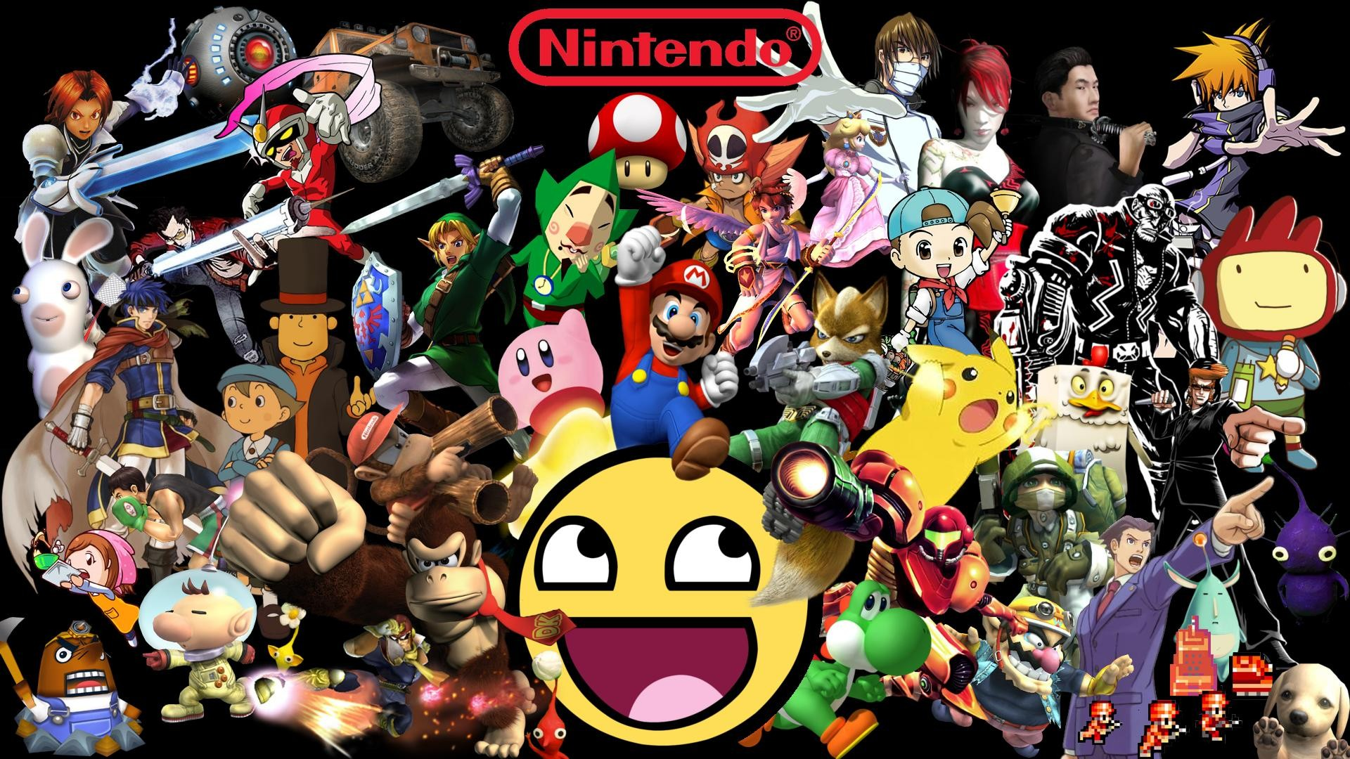 Nintendo background download free awesome hd wallpapers - Nes wallpaper ...