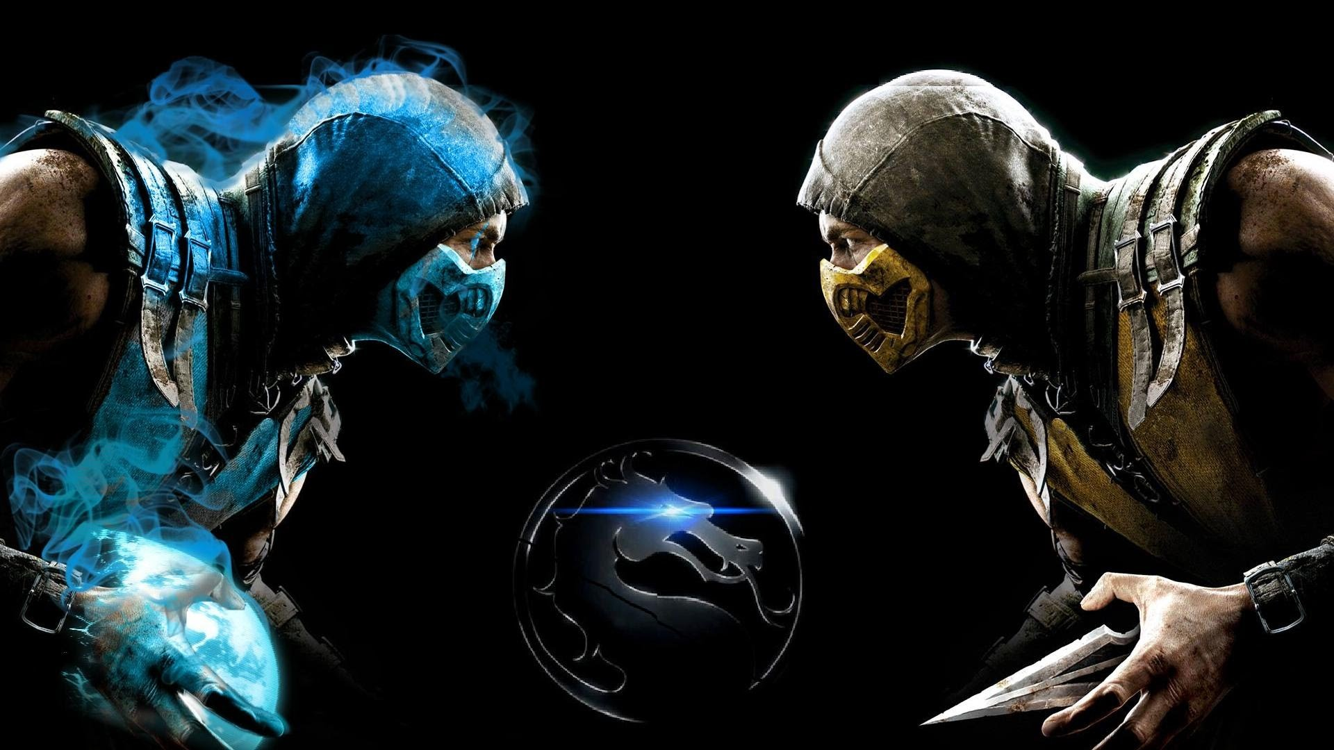 mortal kombat scorpion vs sub zero wallpaper ·①