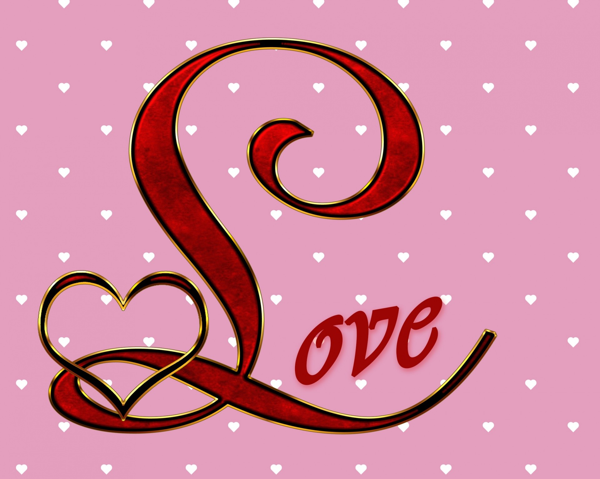 Love hearts background wallpapertag - Cool love images ...