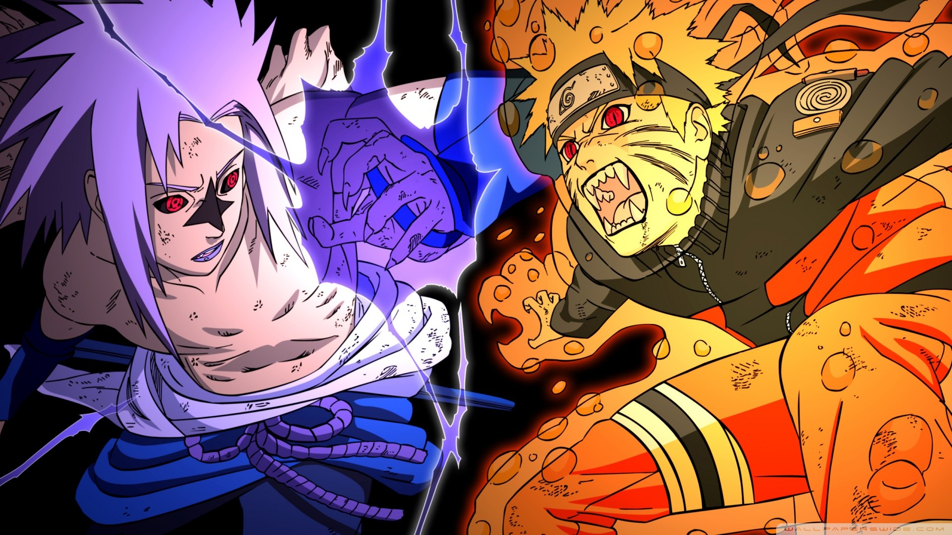 Sasuke And Naruto Wallpaper Wallpapertag