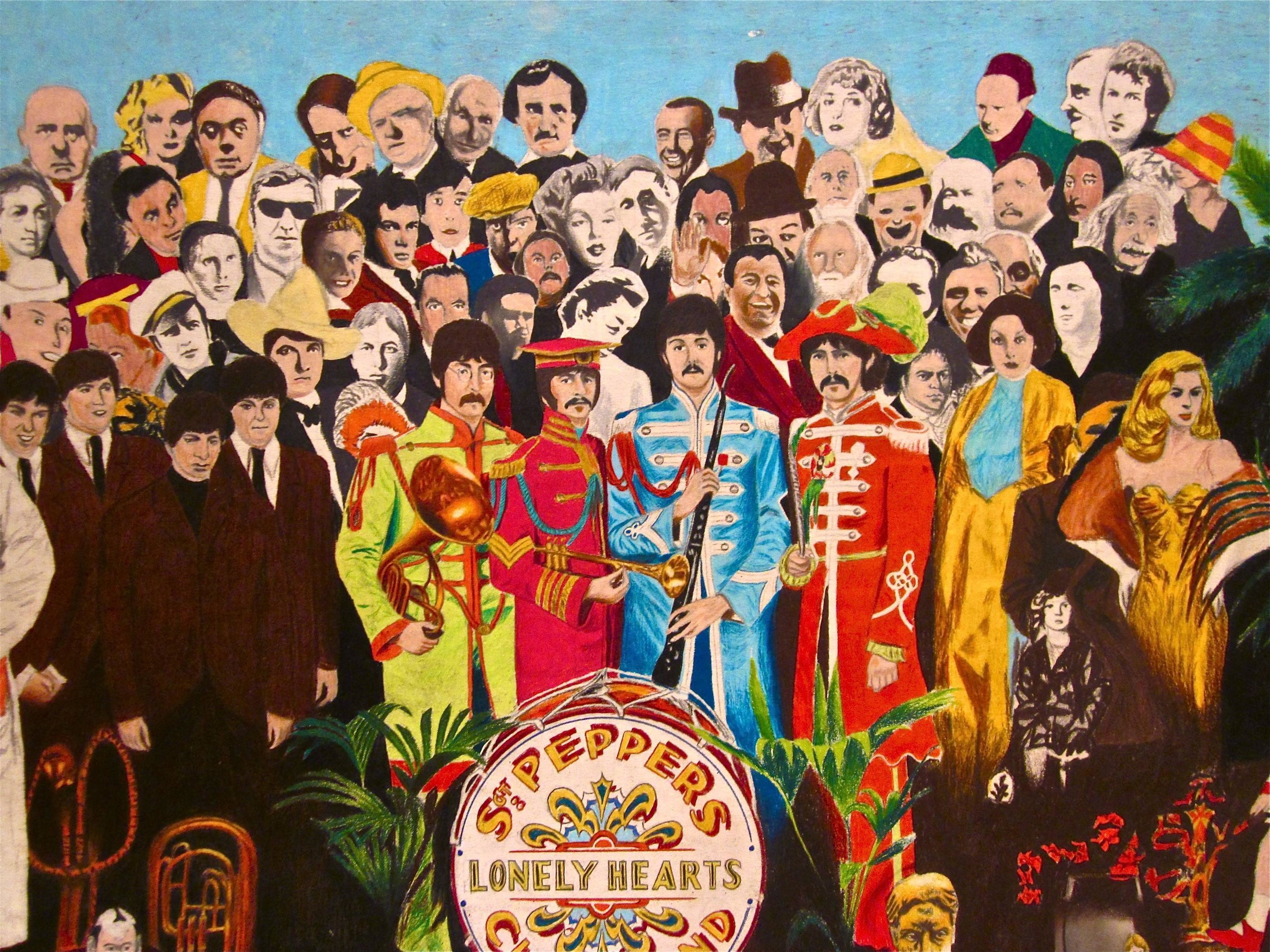 Sgt Pepper Wallpaper ·① WallpaperTag