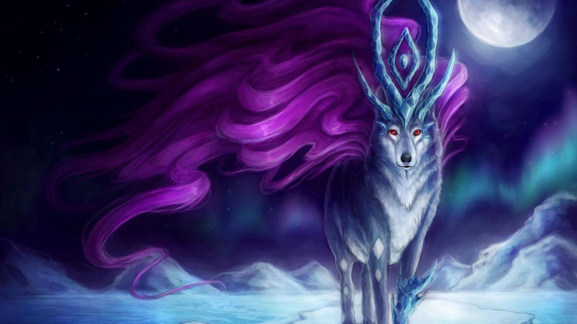 Anime wolf wallpaper wallpapertag - Download anime wallpaper pack ...