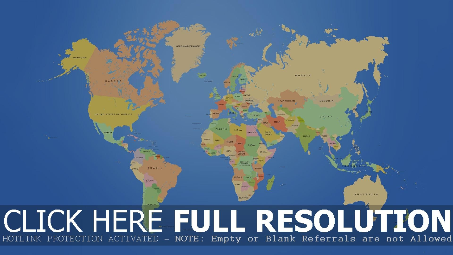 Global map wallpaper 1920x1080 world map wallpapers wide download blue gumiabroncs Gallery