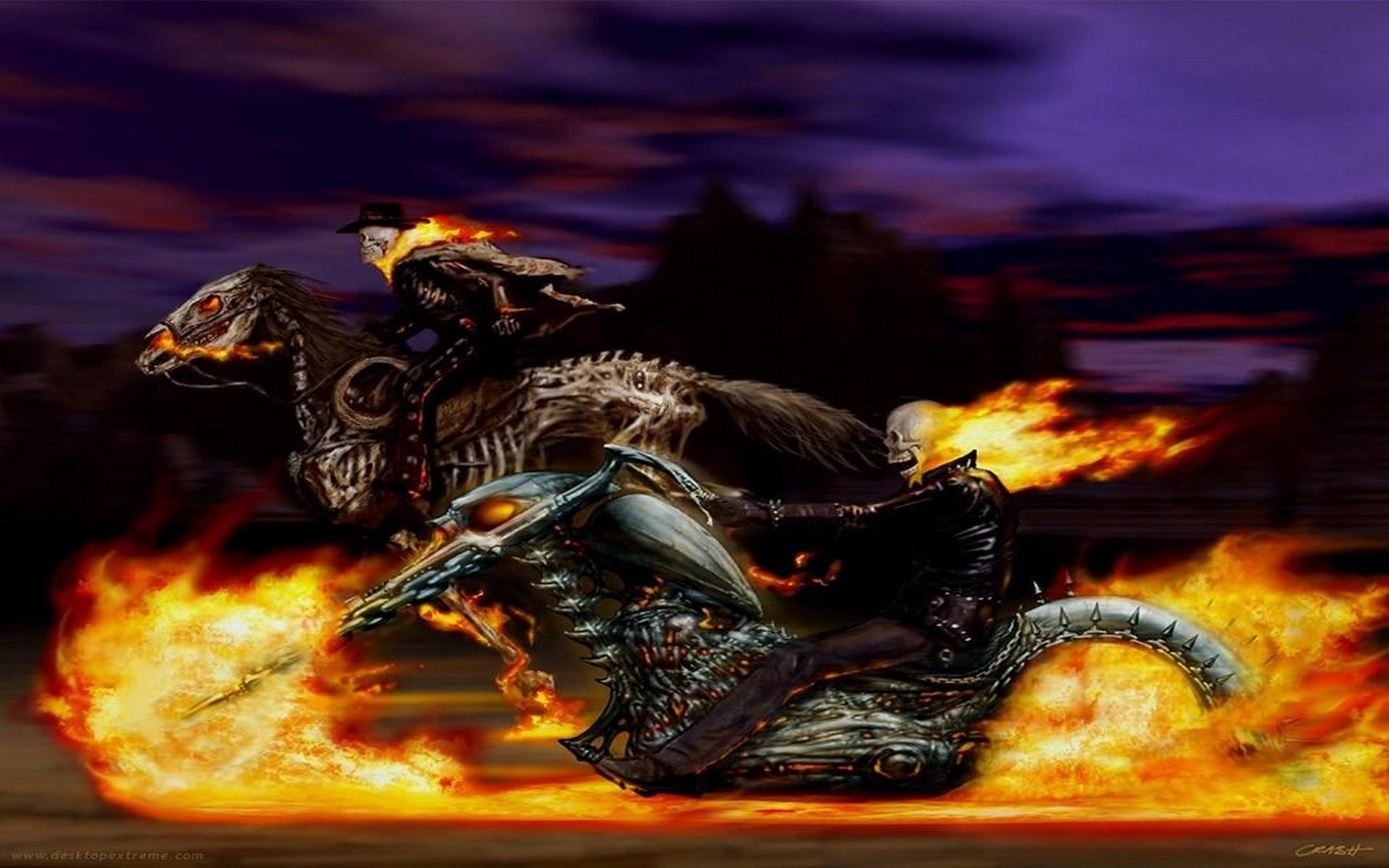 ghost rider hd wallpaper for mobile