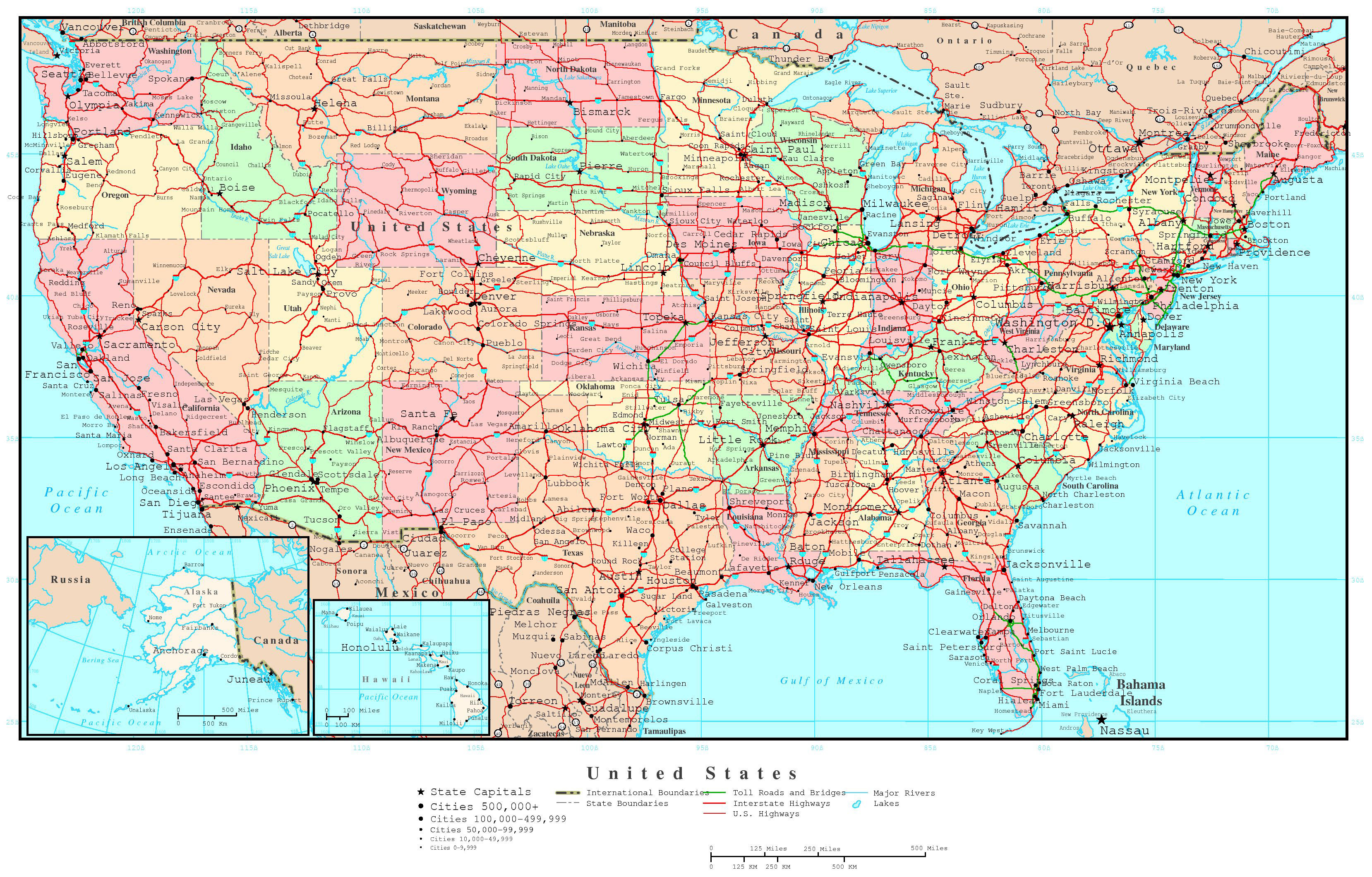 US Map Wallpaper ① - High Resolution Us Map Download