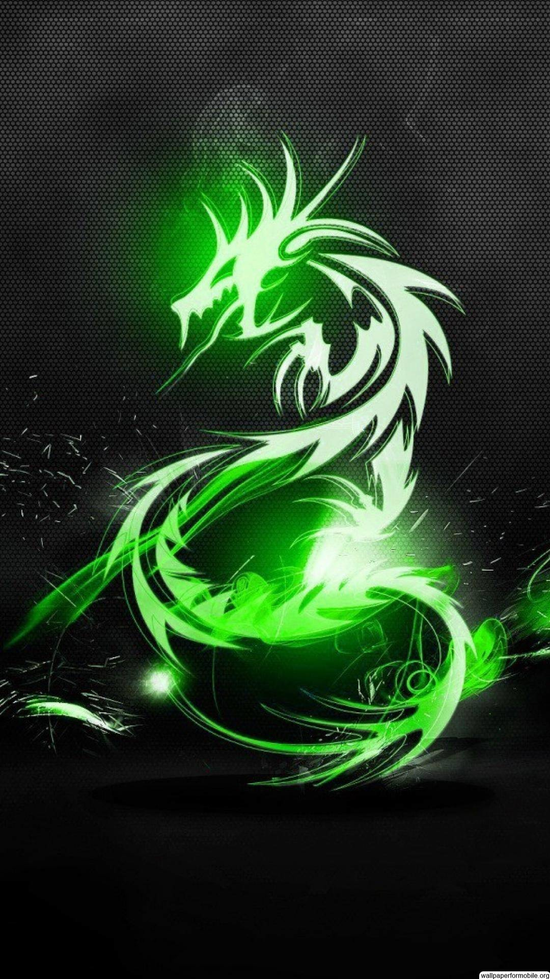 Yin Yang Dragon Wallpaper 1