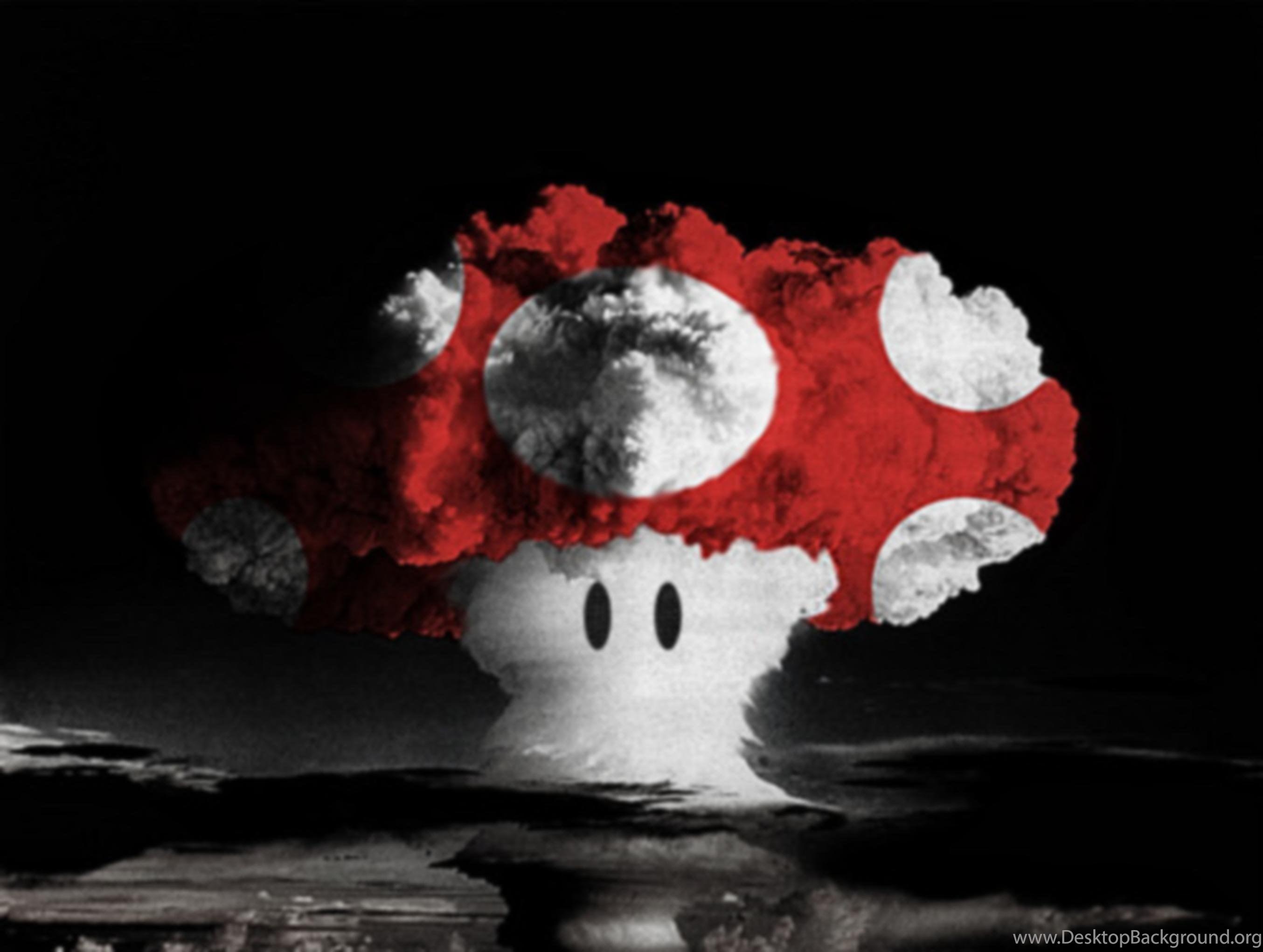 Mushroom Cloud Wallpaper 1