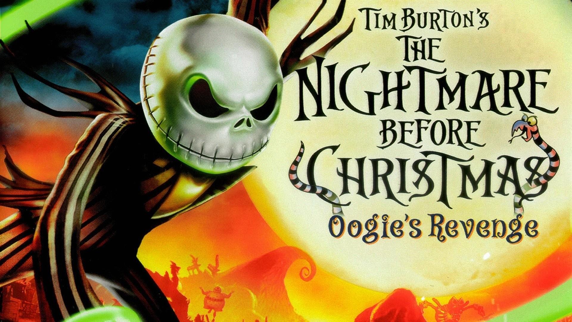 Nightmare Before Christmas Wallpaper HD ·①