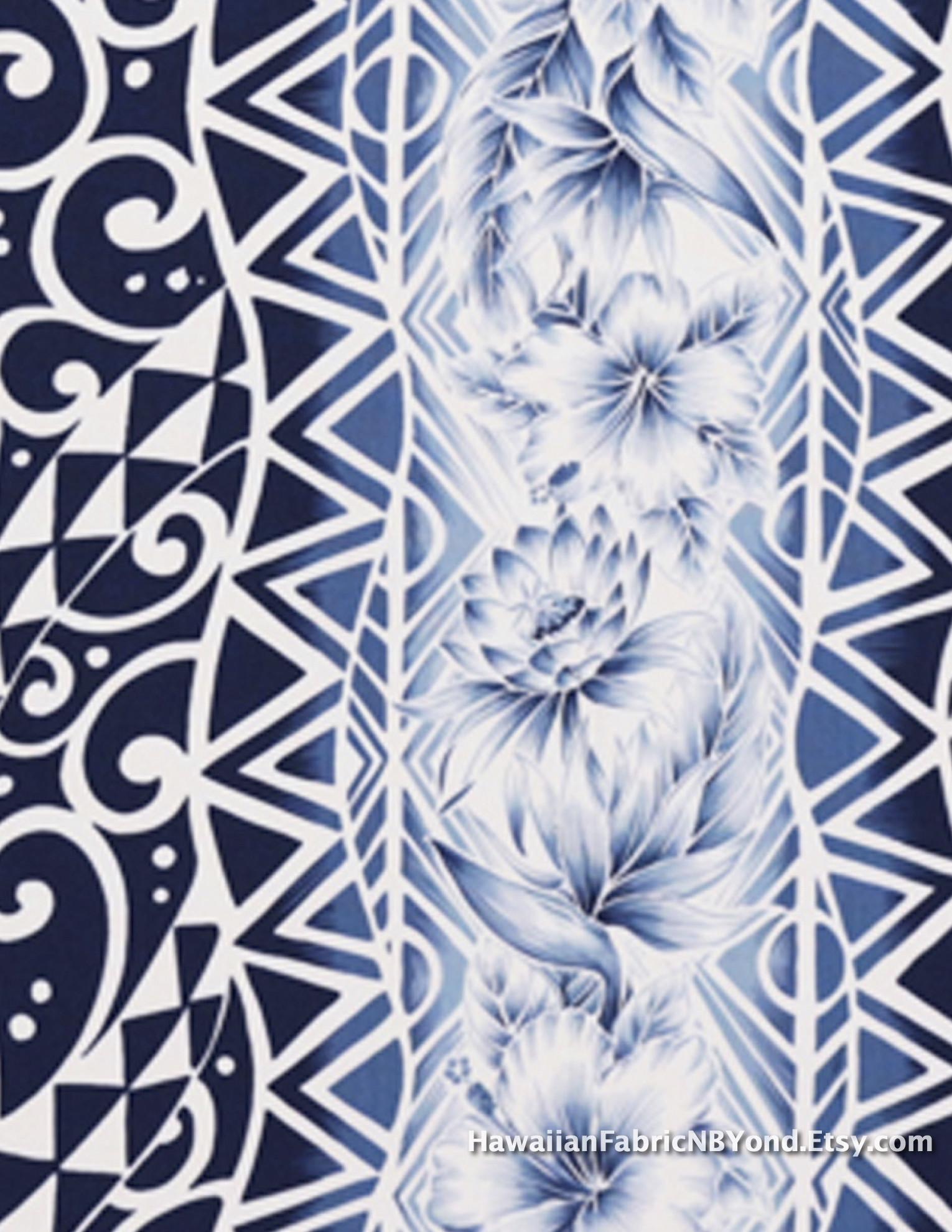 Polynesian Tribal Wallpaper ·①