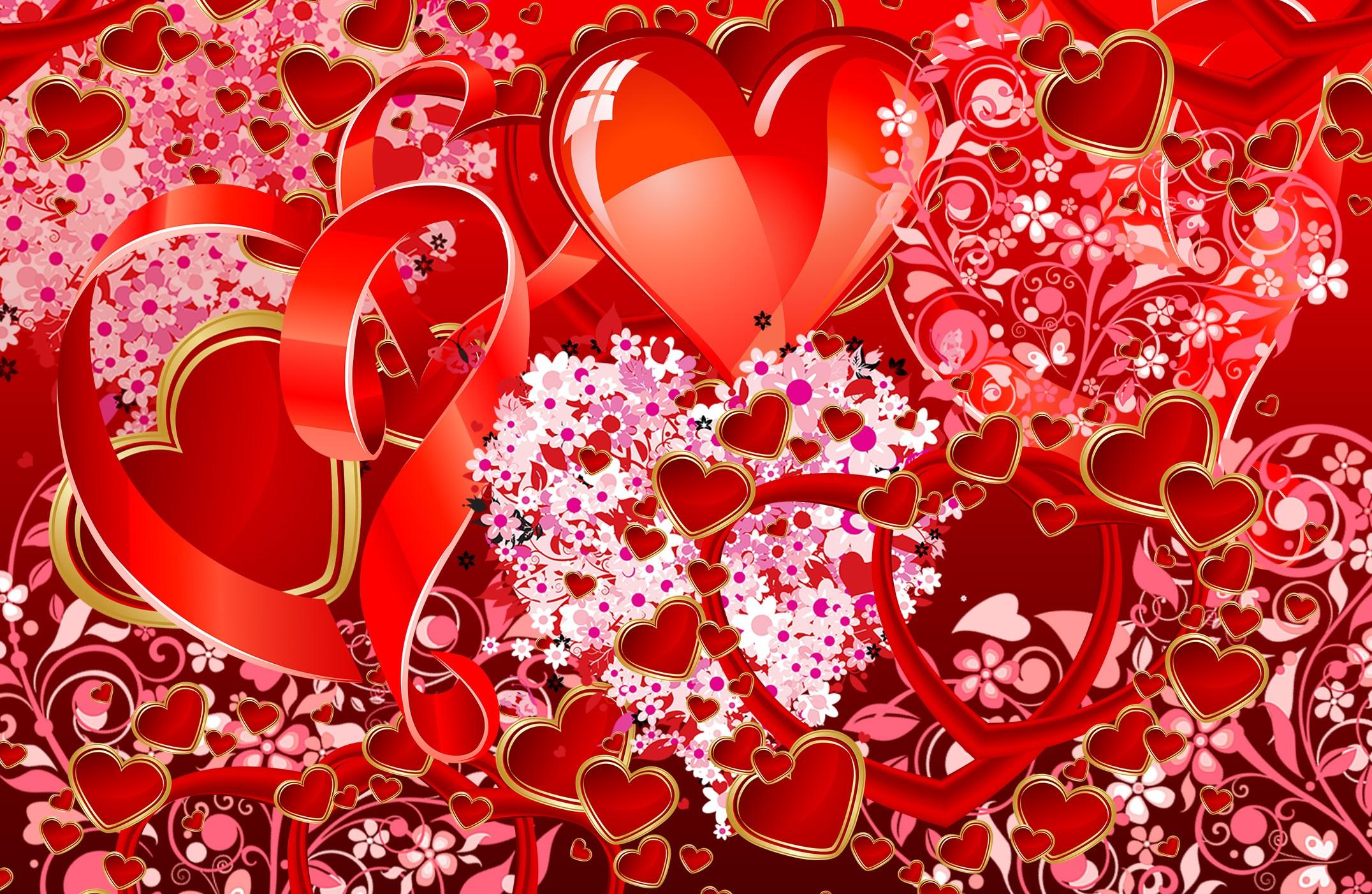 Valentines Day Background ·① Download Free High Resolution